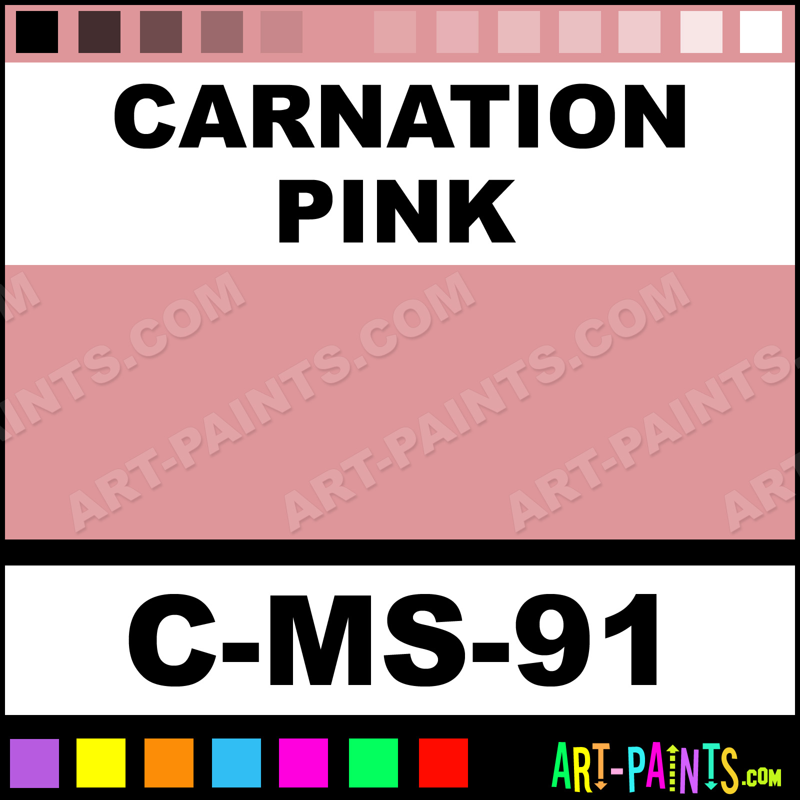 Carnation Pink Paint