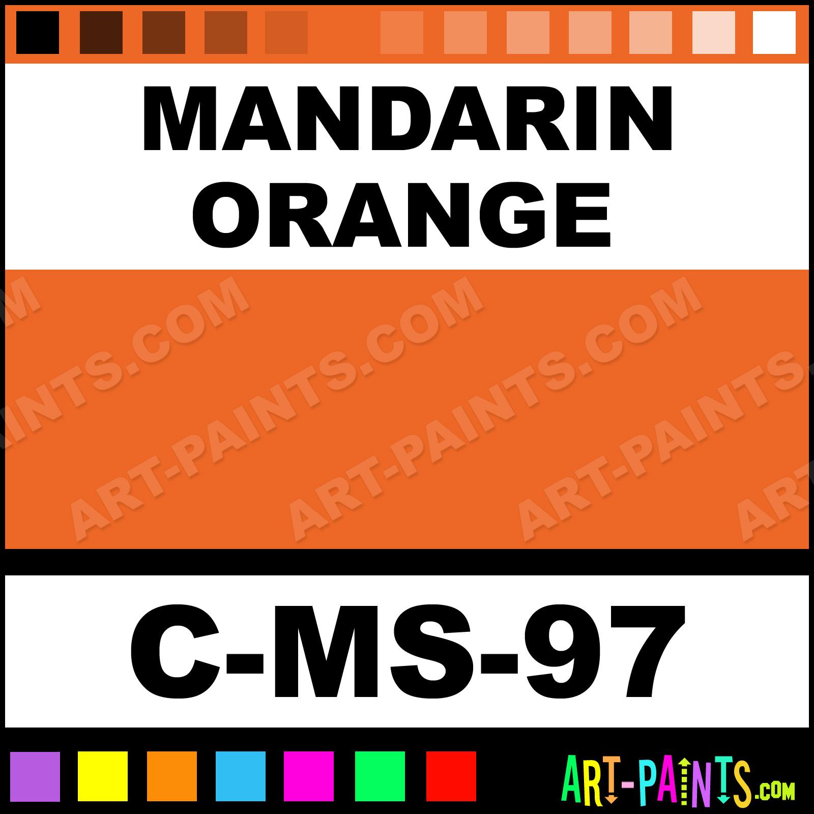 Mandarin Orange Paint
