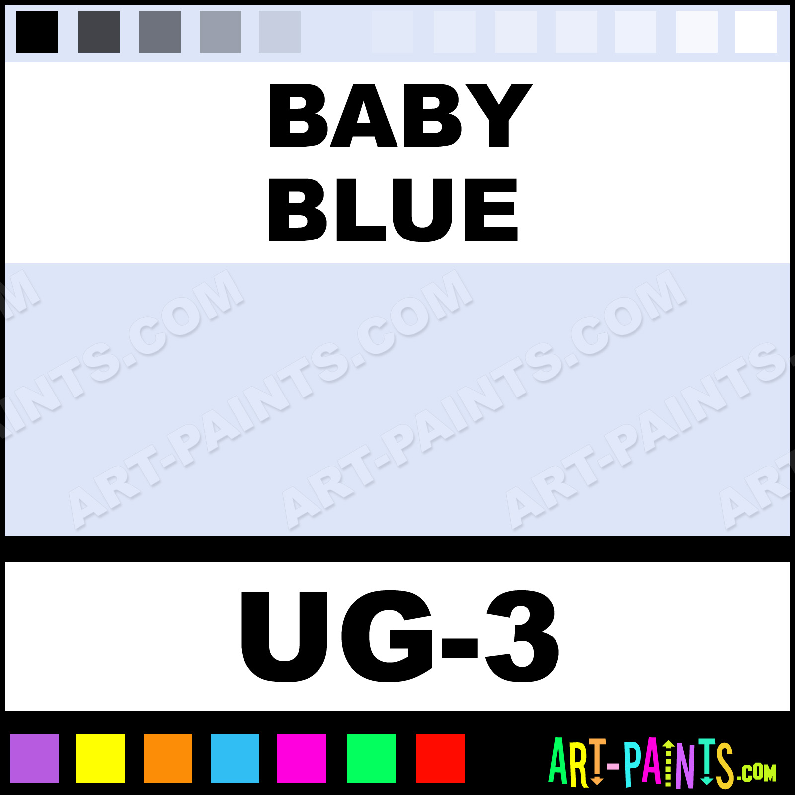 baby blue non toxic opaque ceramic paints ug 3 baby
