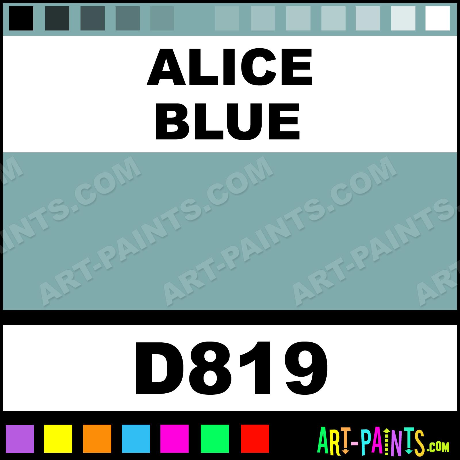 Alice Blue Ultra Ceramic Ceramic Porcelain Paints D819