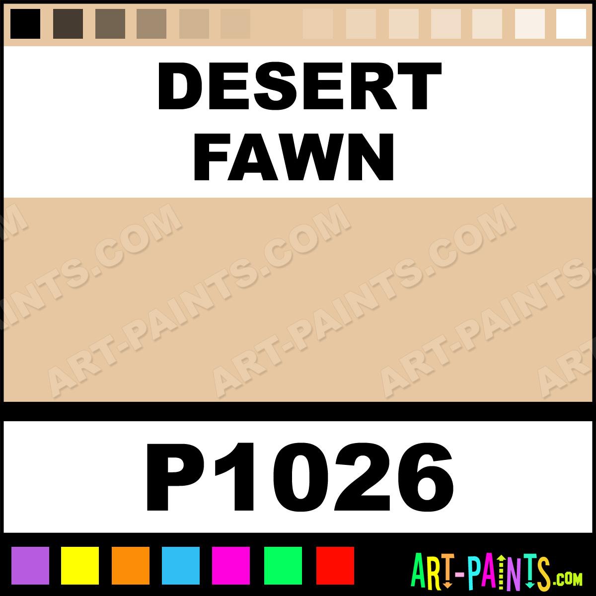 Desert Fawn Interior Paint