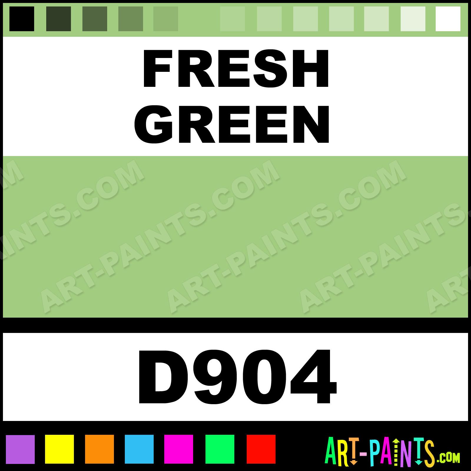 Fresh Green Ultra Ceramic Ceramic Porcelain Paints D904