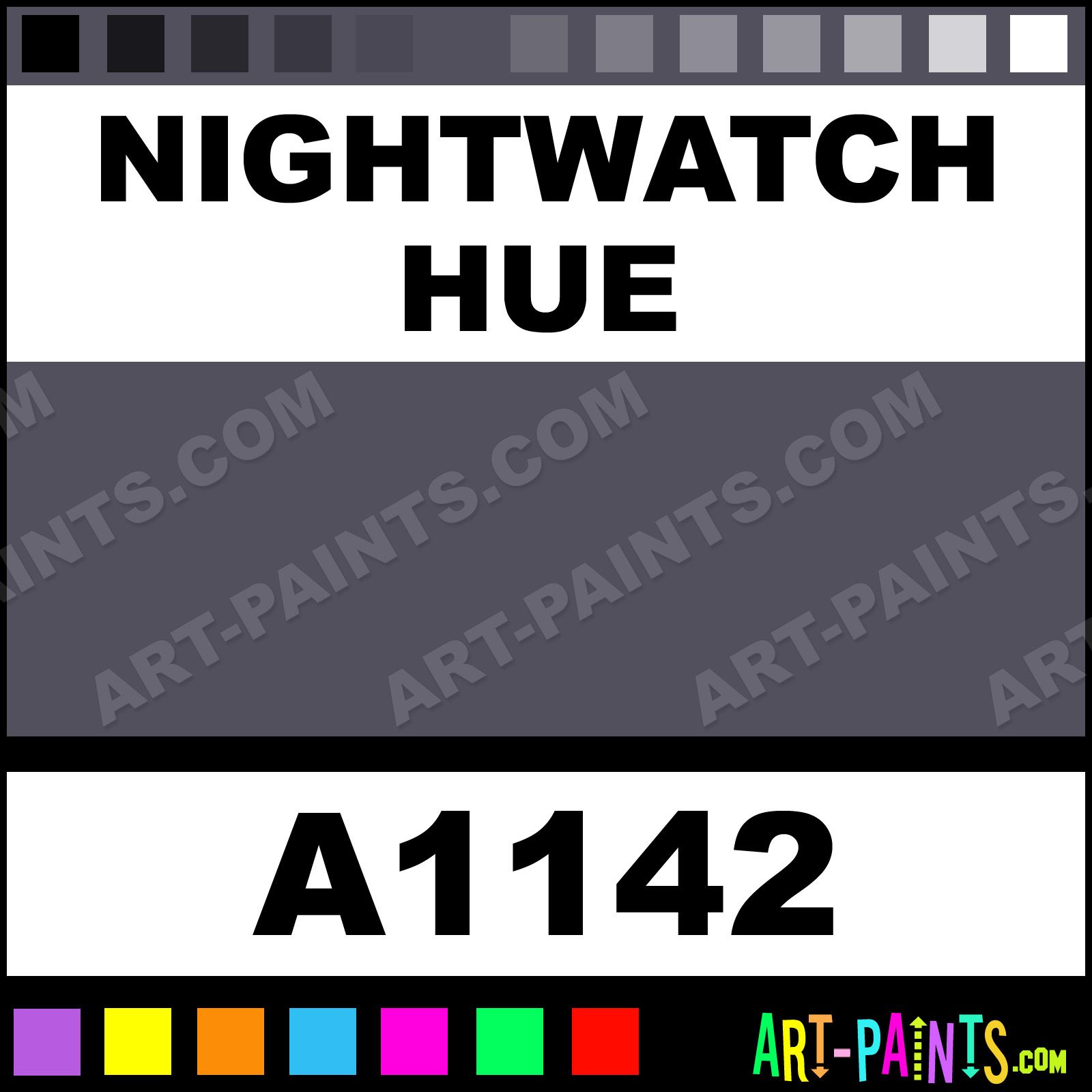 Nightwatch ultra ceramic ceramic porcelain paints a1142 - Night watch paint color ...