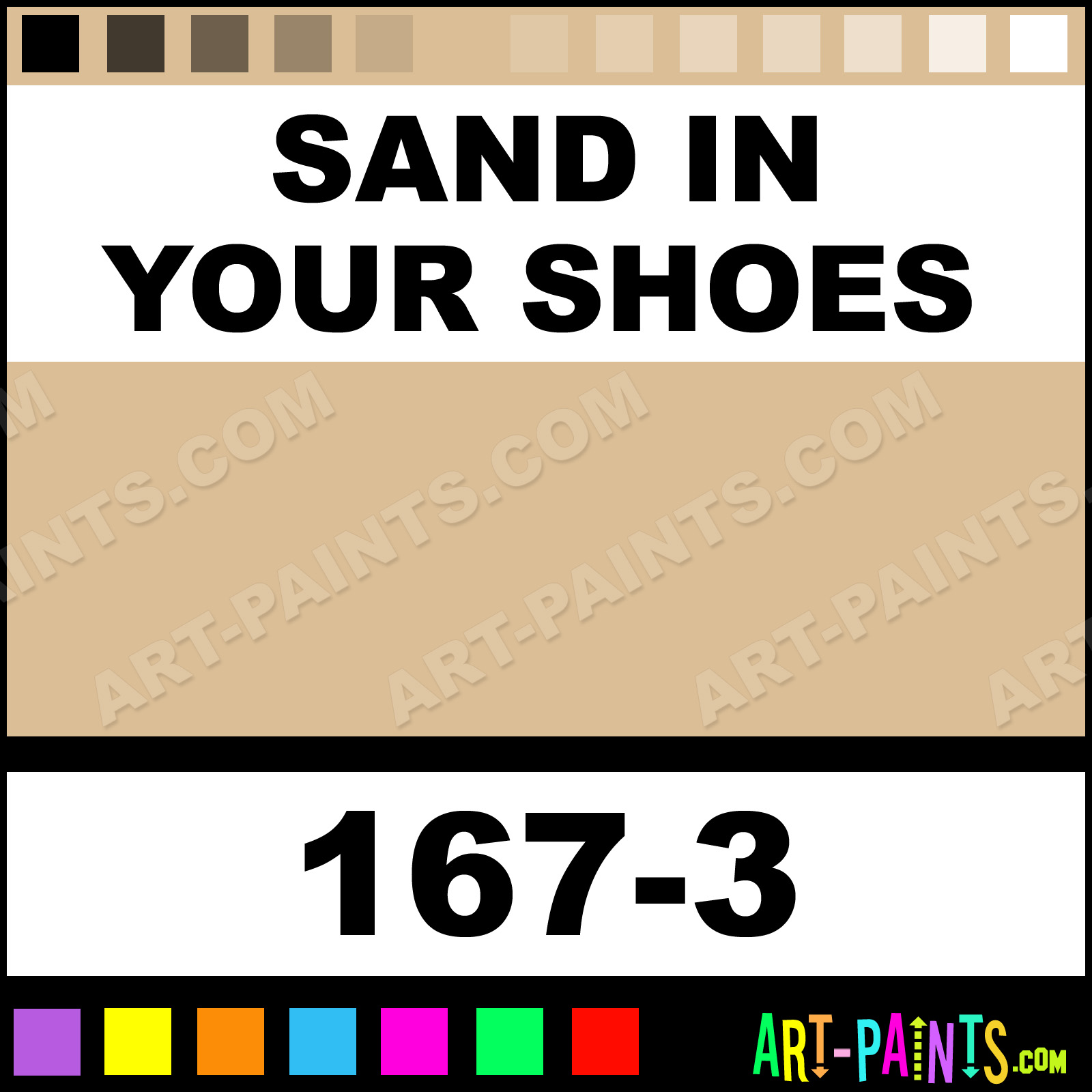 Featuring - Sand In Your Shoes Ultra Ceramic Ceramic Paint