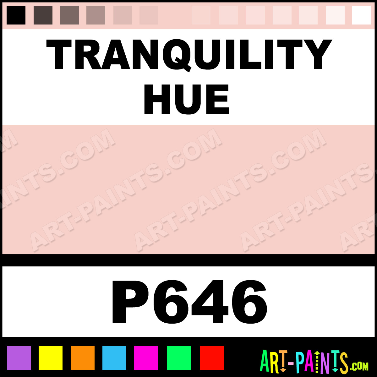 Tranquility Ultra Ceramic Ceramic Porcelain Paints P646