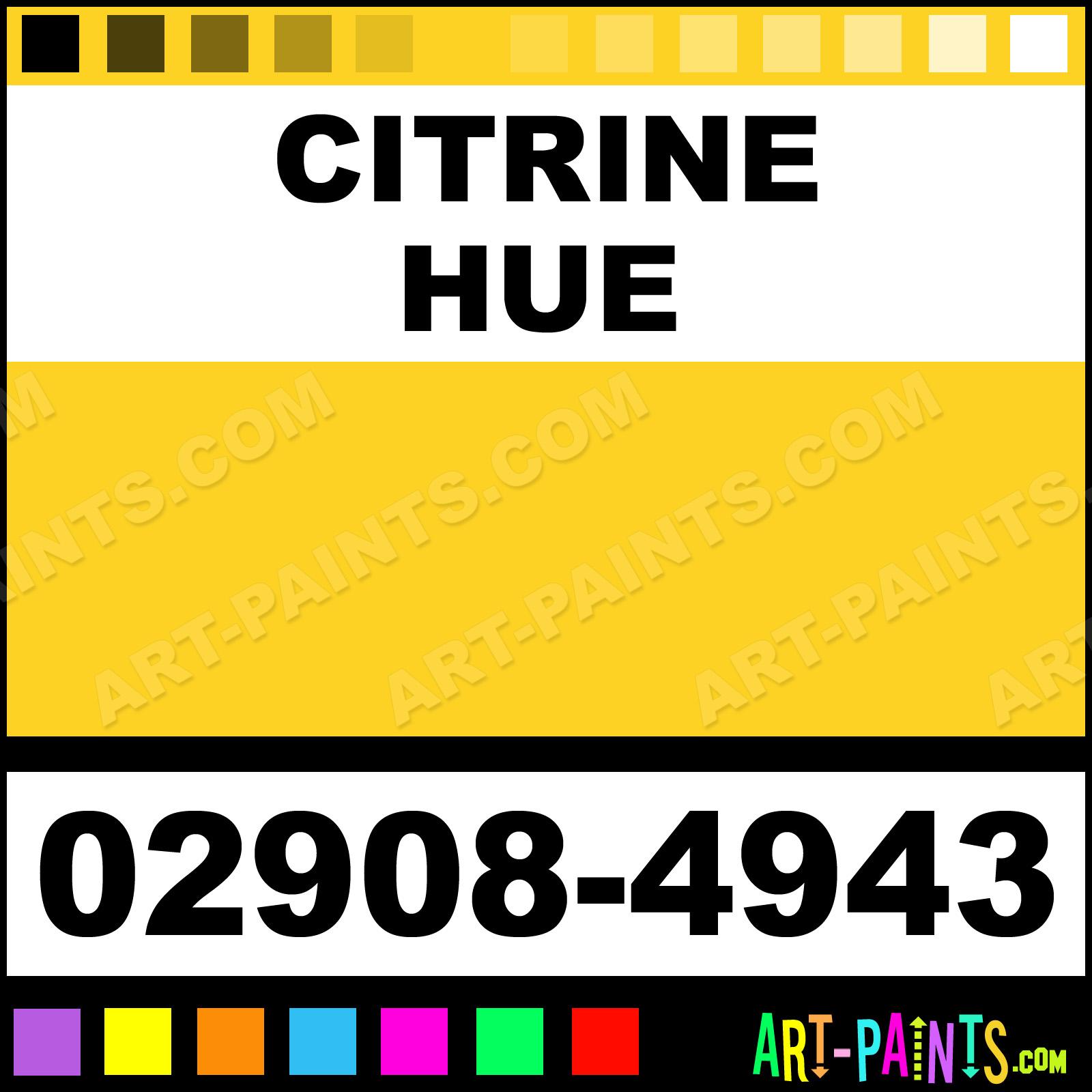 Citrine Paint Colors