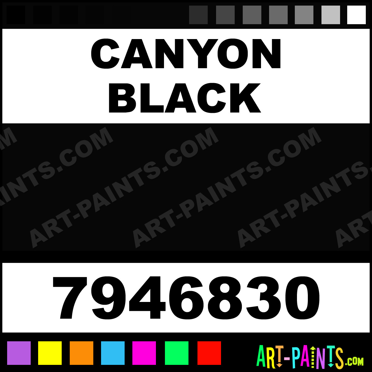 American Accents Paint Canyon Black