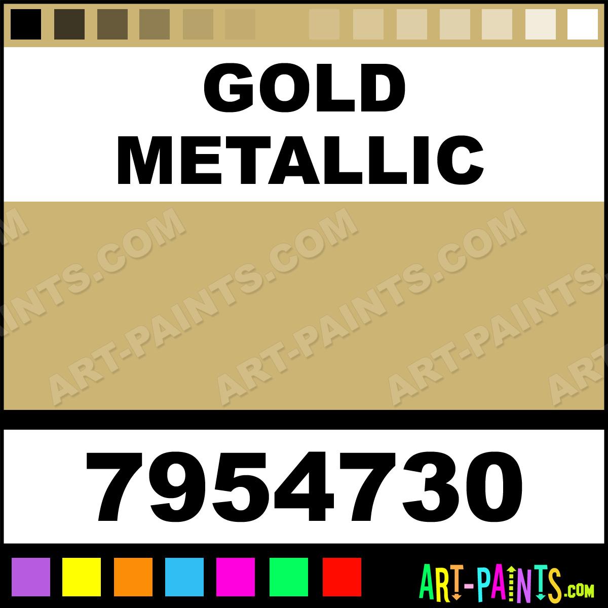 Gold Metallic Satin Finishes Ceramic Paints 7954730 Gold Metallic Paint Gold Metallic Color
