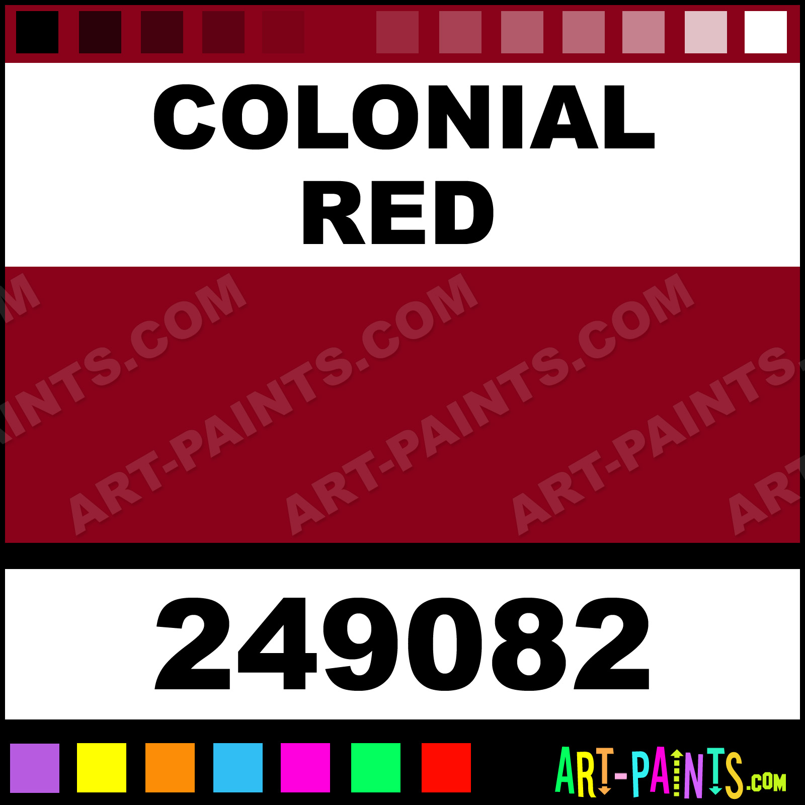 Colonial Red Paint