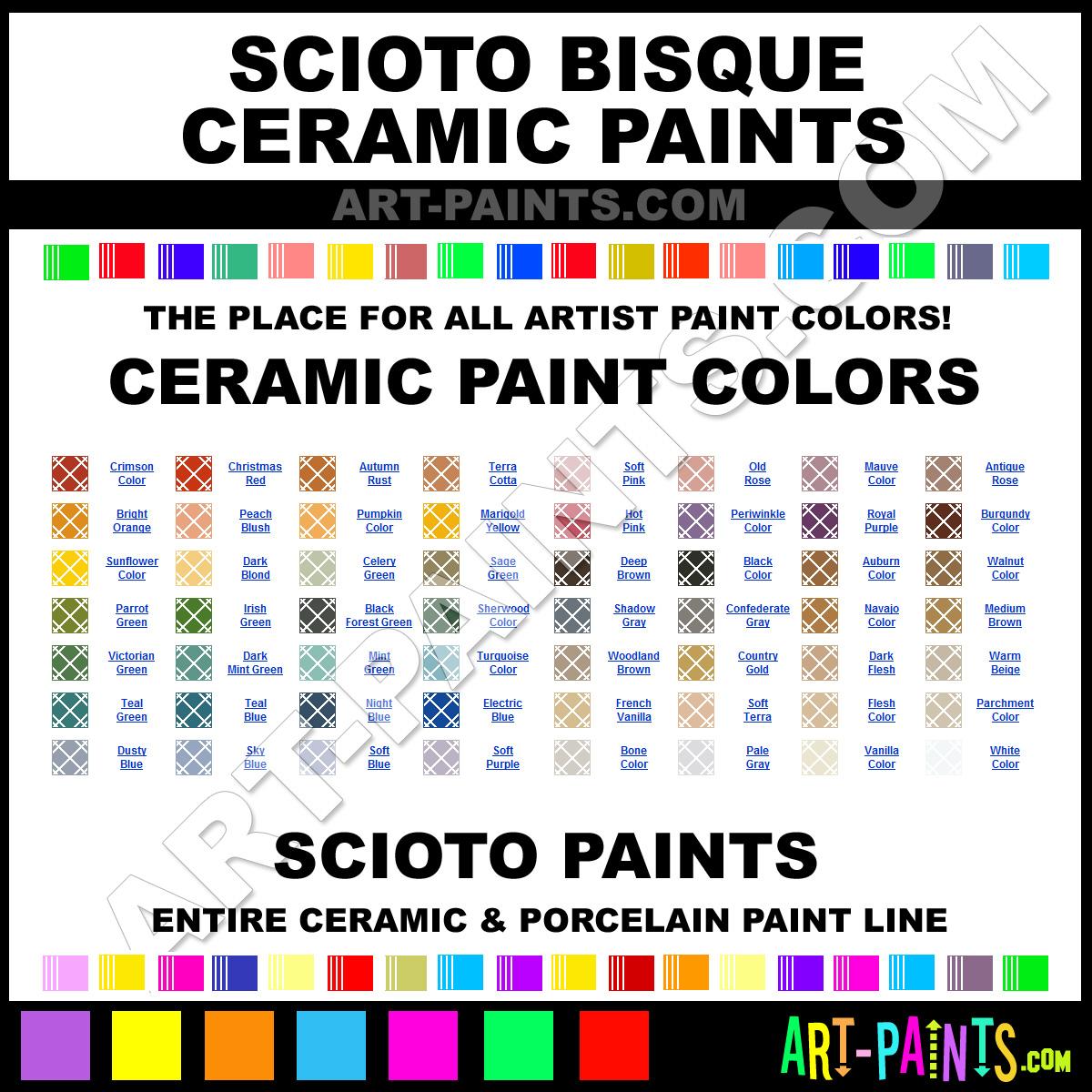 Pebeo Porcelaine 150 Paint Colors