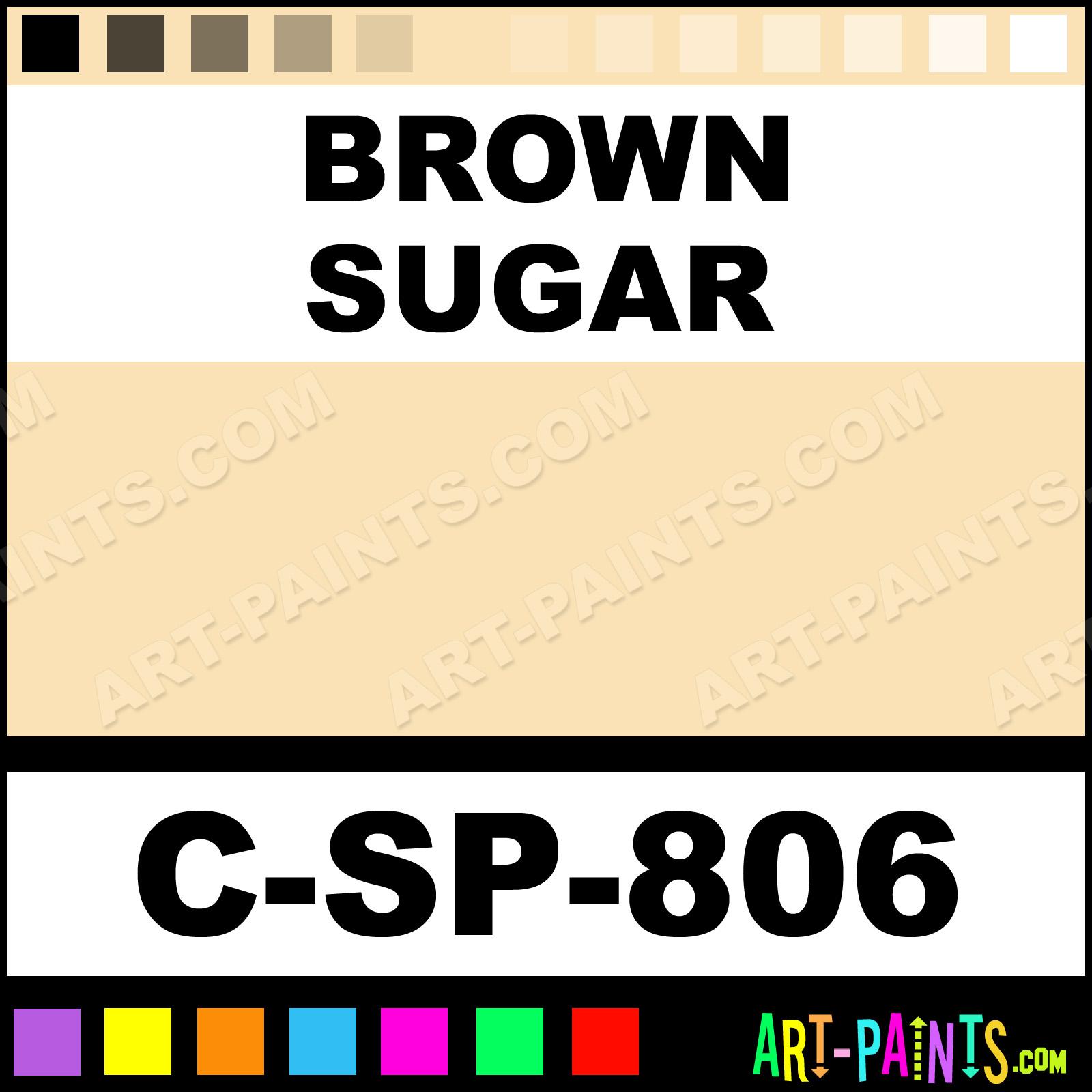 Brown Sugar 800 Series Semi-Transparent Ceramic Paints - C