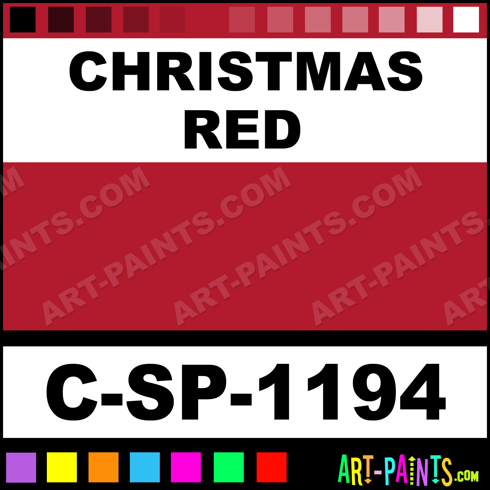 cmyk for christmas red
