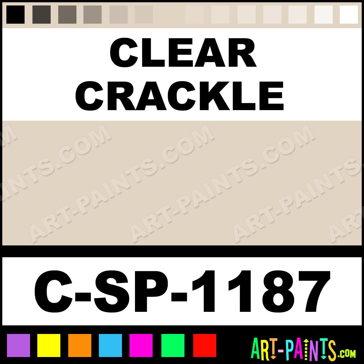 Spectrum Clear Oil Paint