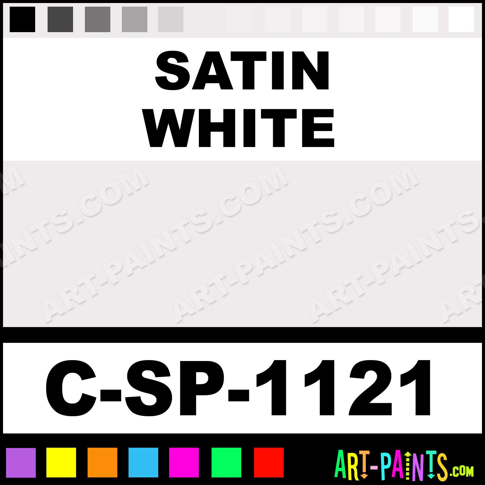 Satin White Paint