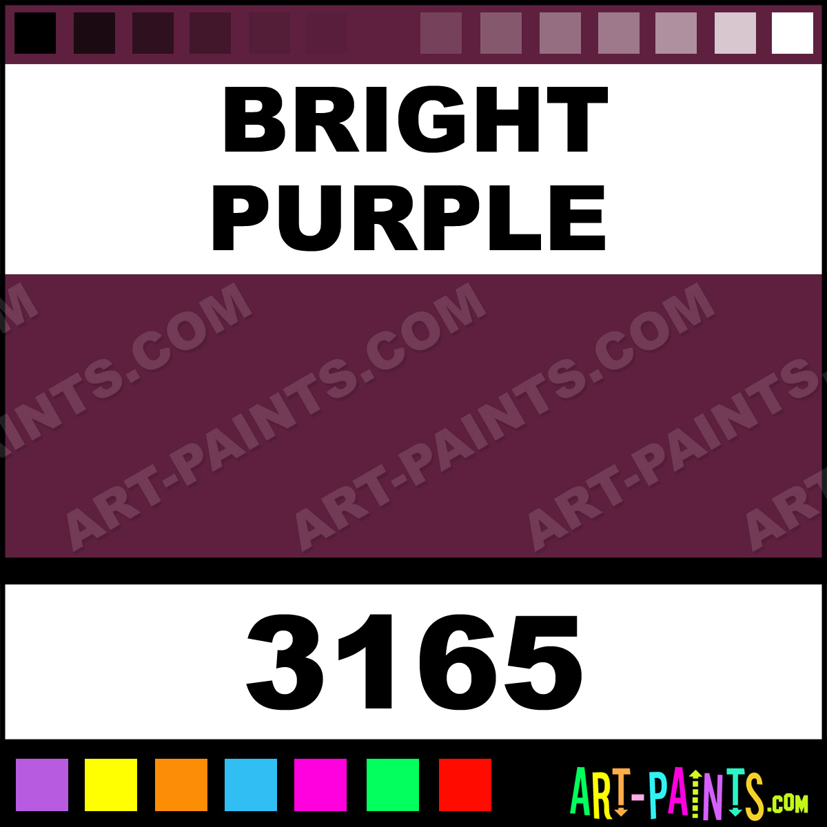 Bright Purple Multipens Ceramic Paints 3165 Bright
