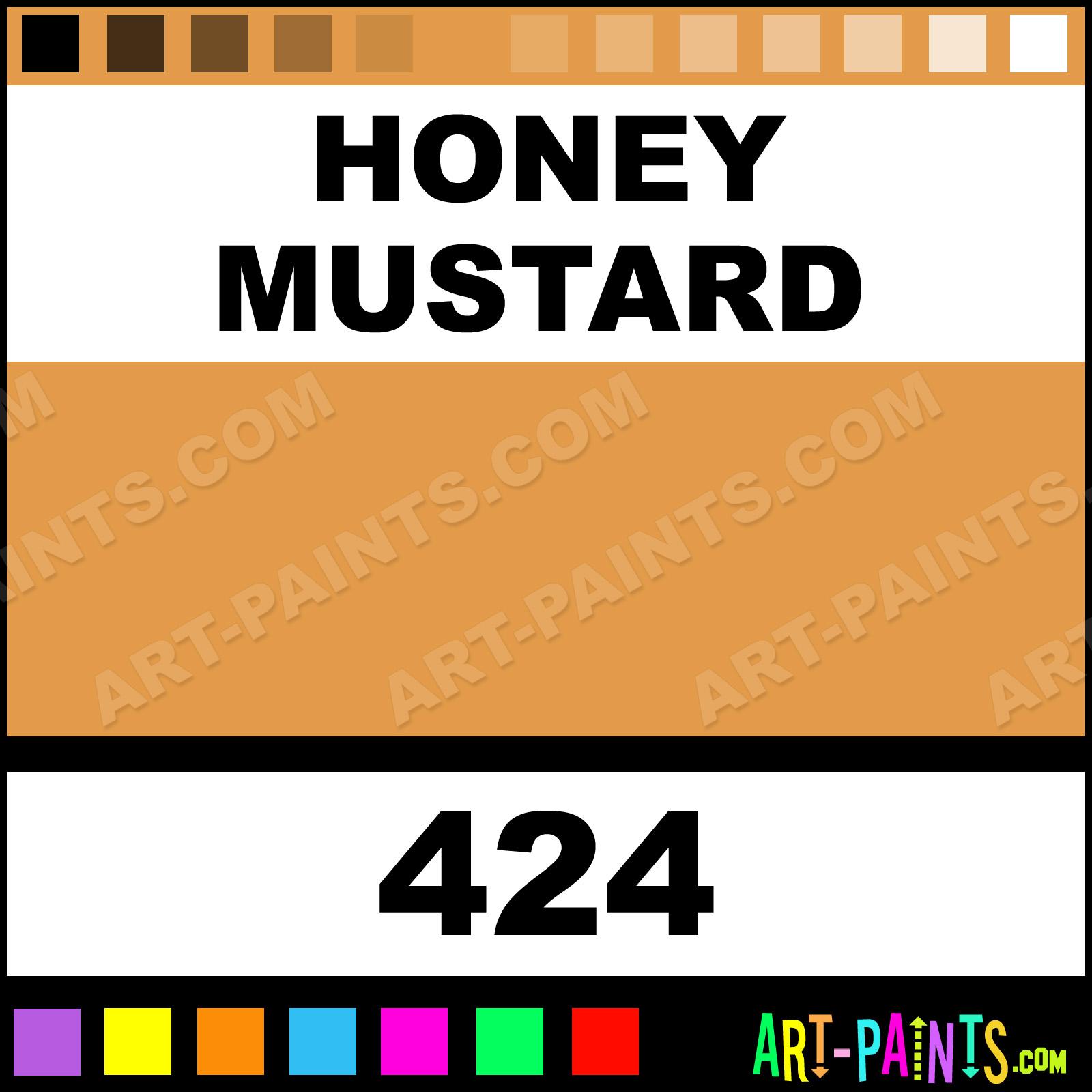 honey mustard superwriters ceramic paints - 424 - honey mustard