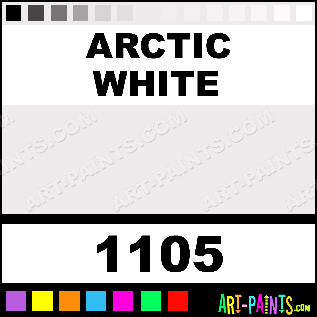 Arctic White Paint