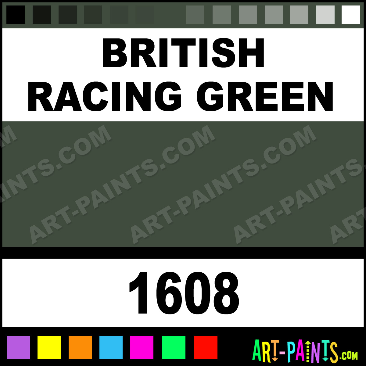 british racing green acrylic enamel paints 1608