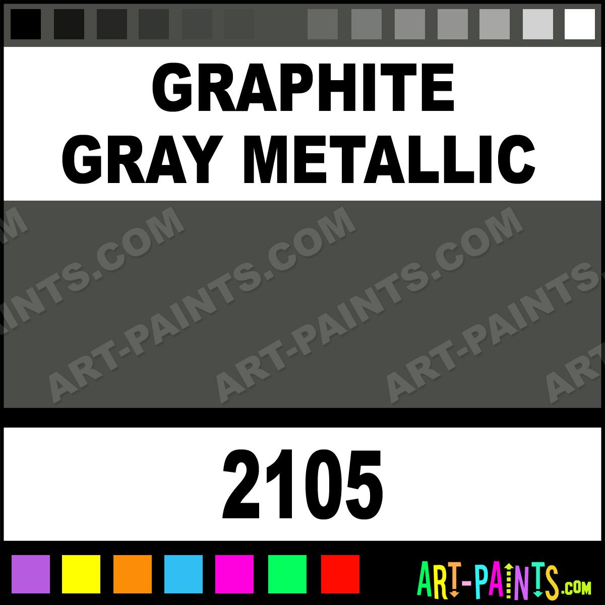 Acrylic Enamel Paint >> Graphite Gray Metallic Acrylic Enamel Paints - 2105 - Graphite Gray Metallic Paint, Graphite ...