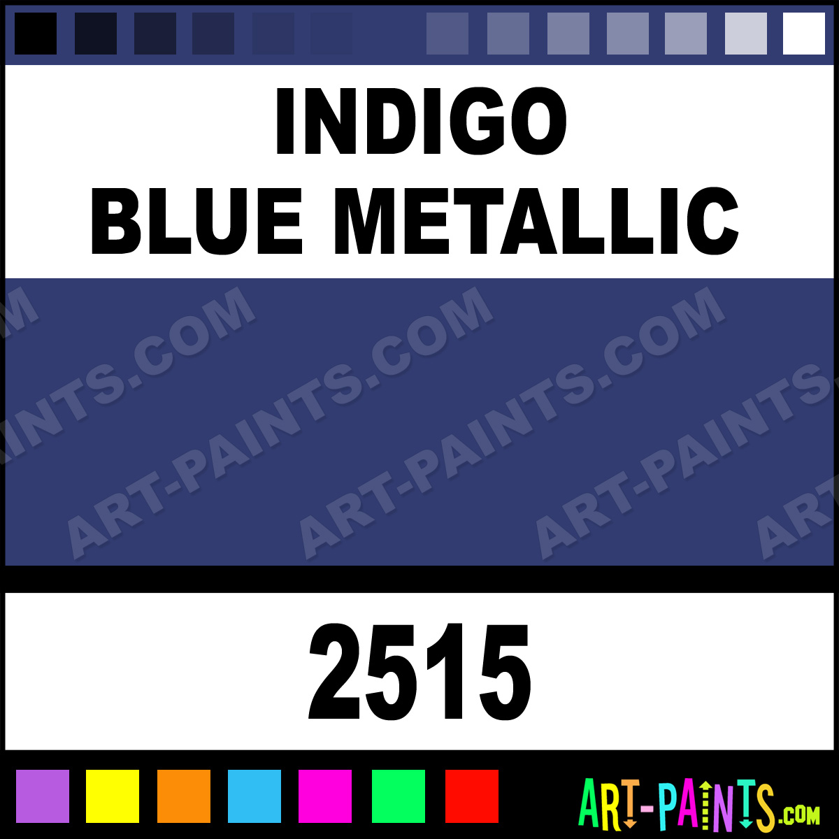 Chevrolet Indigo Blue Metallic Paint Code
