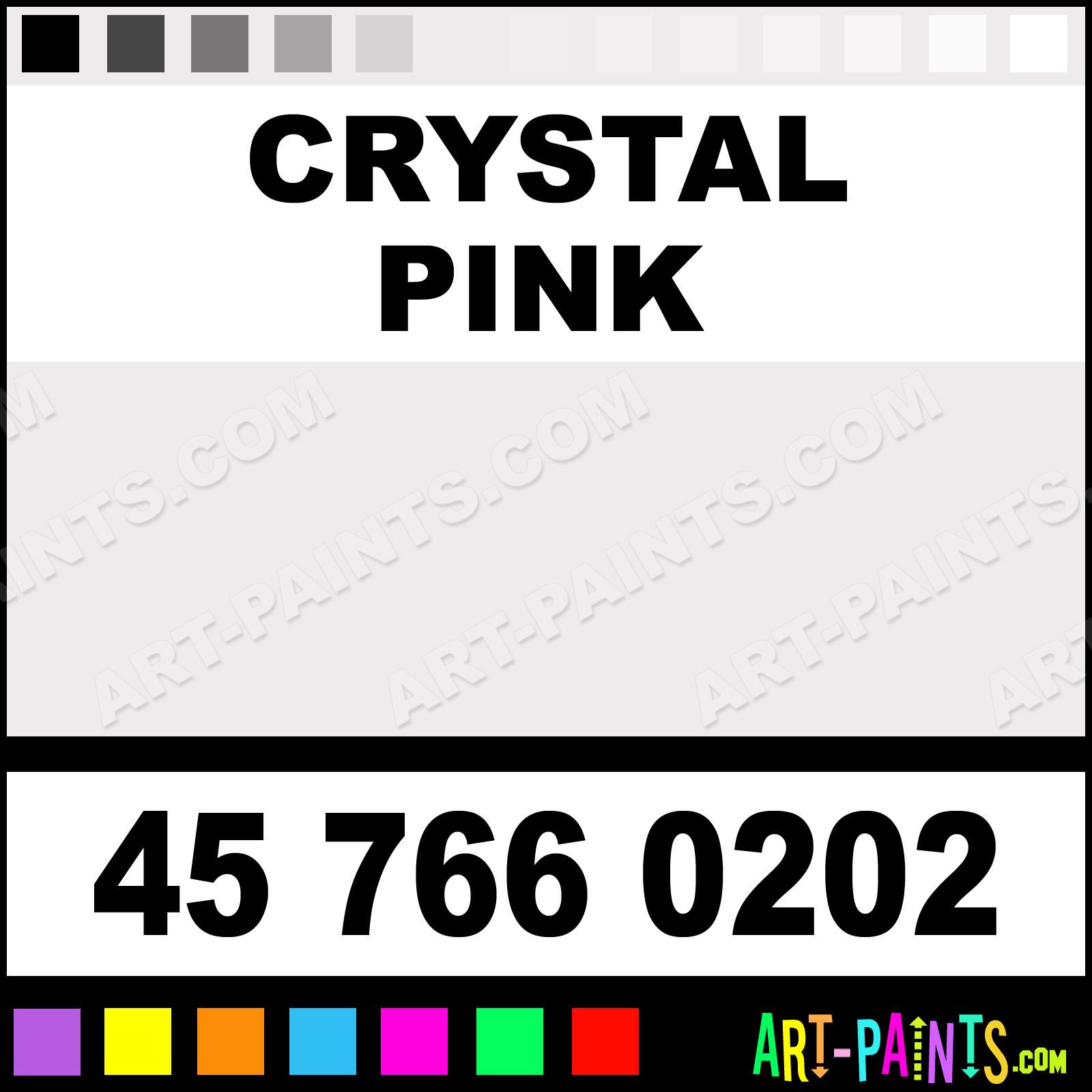 Crystal Pink Glass Enamel Paints 45 766 0202 Crystal