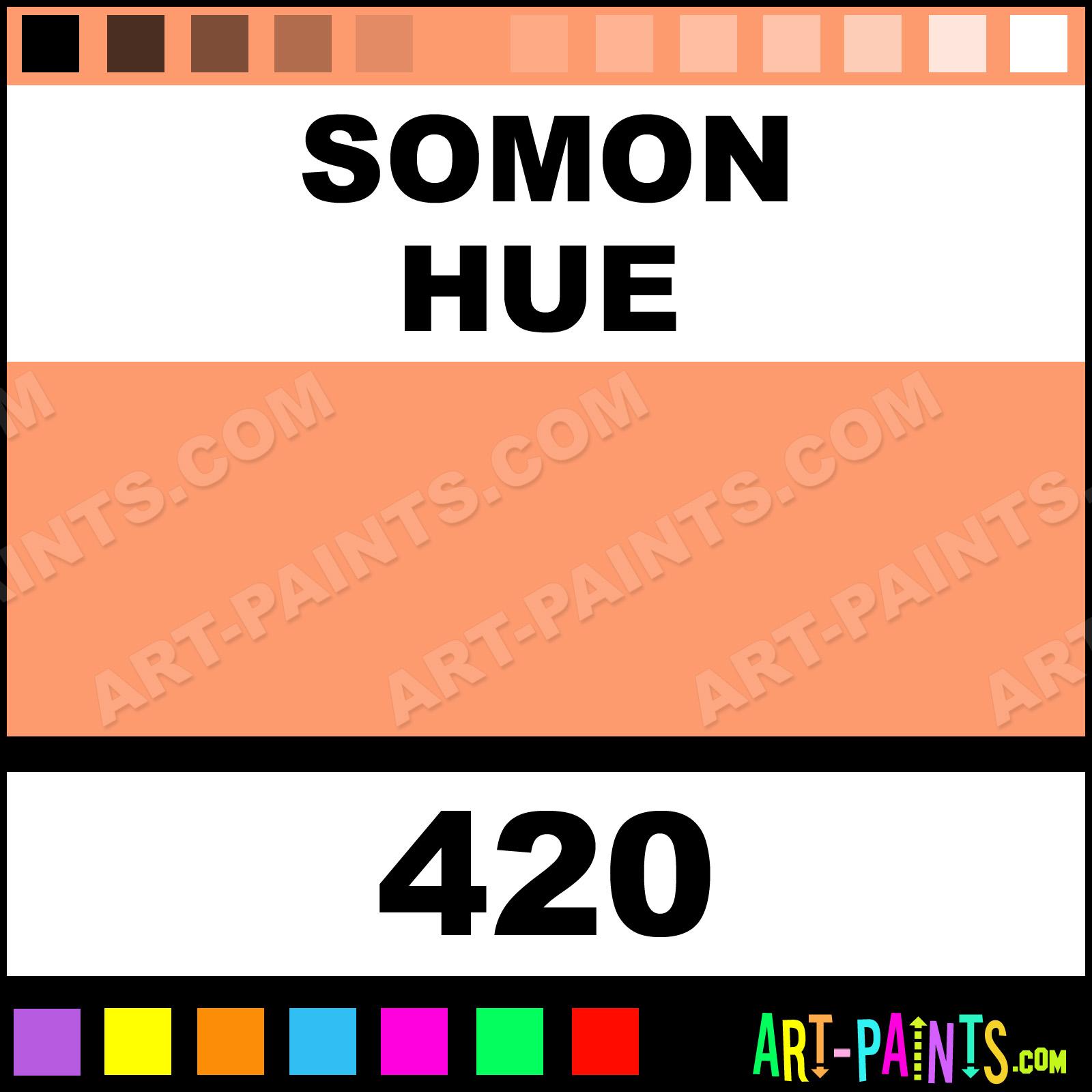 сомон цвет фото