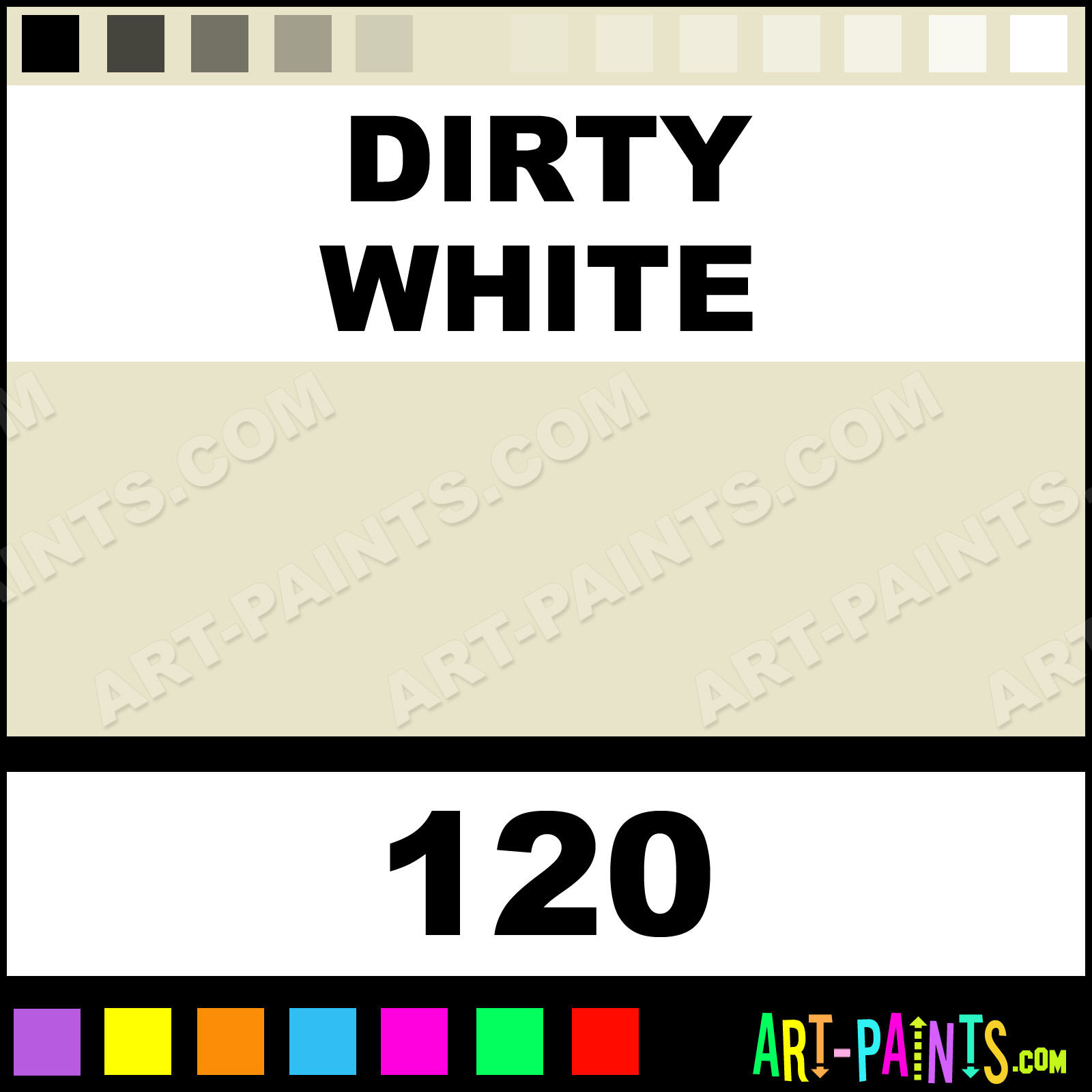 Dirty White Paint