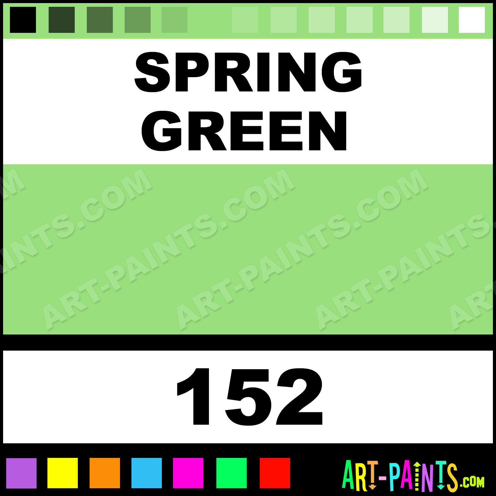 Spring Green Paint