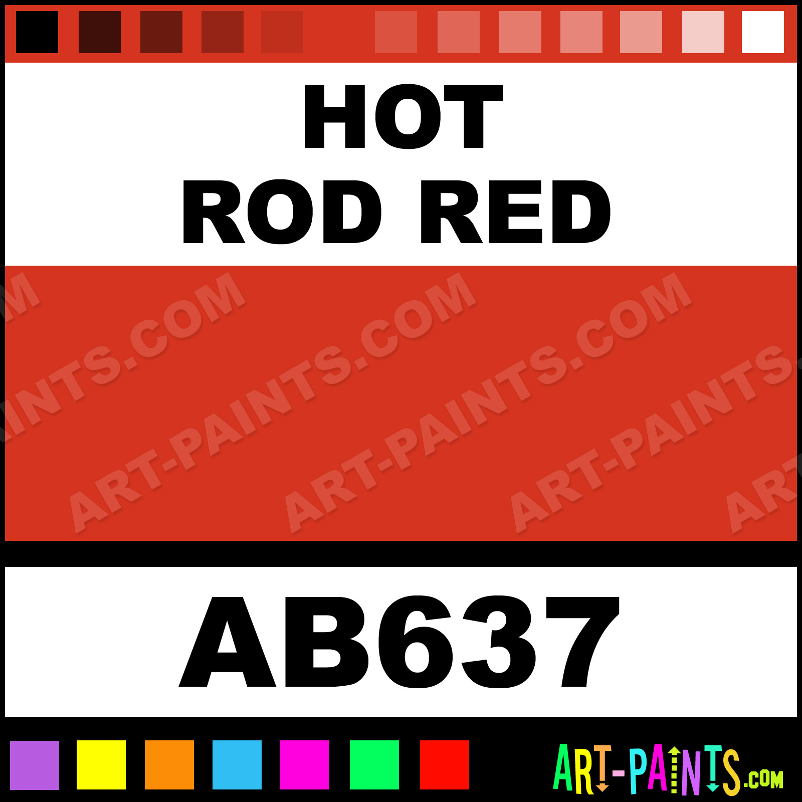 Hot Rod Red Paint