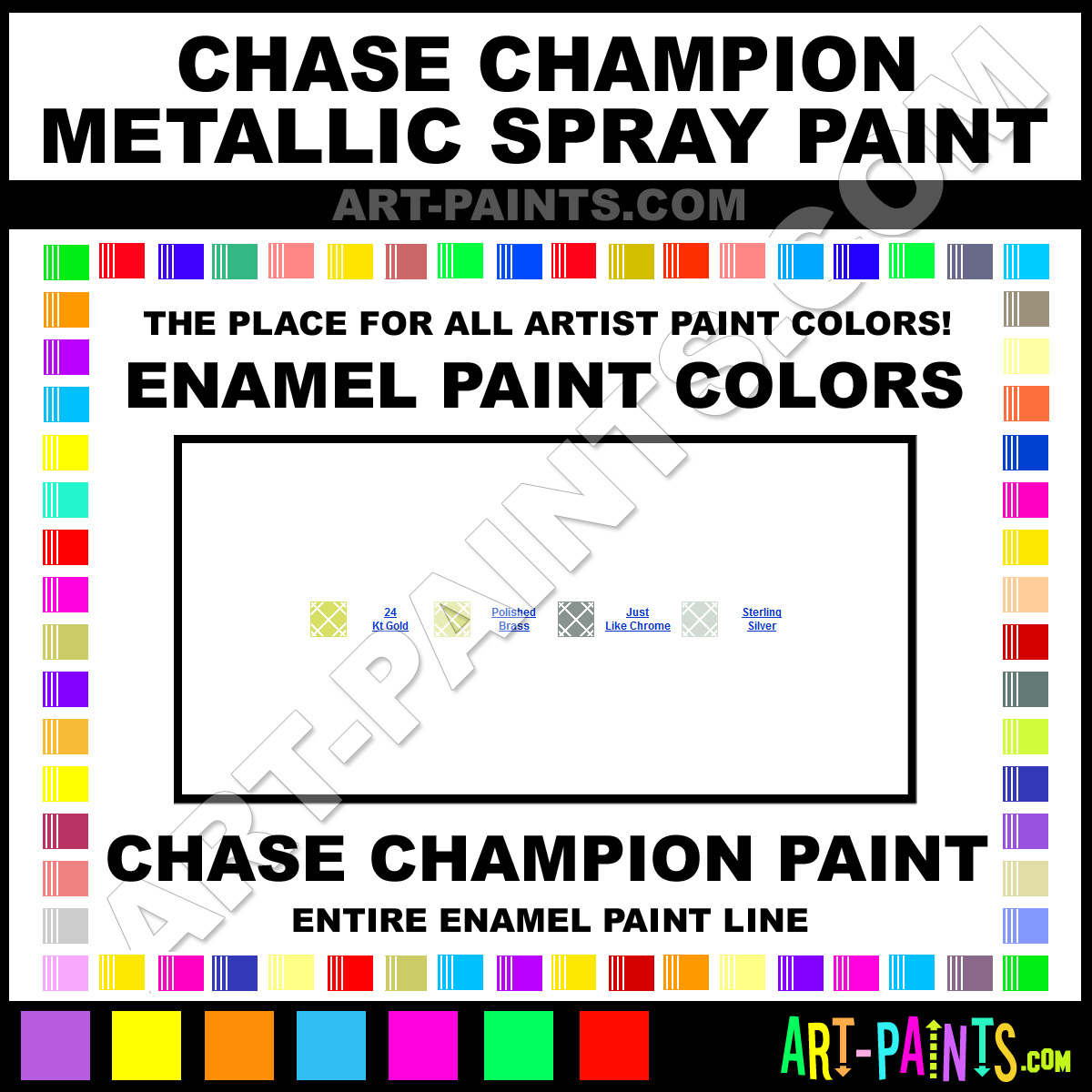 Kirker automotive finishes color chart autos post Metallic spray paint colors