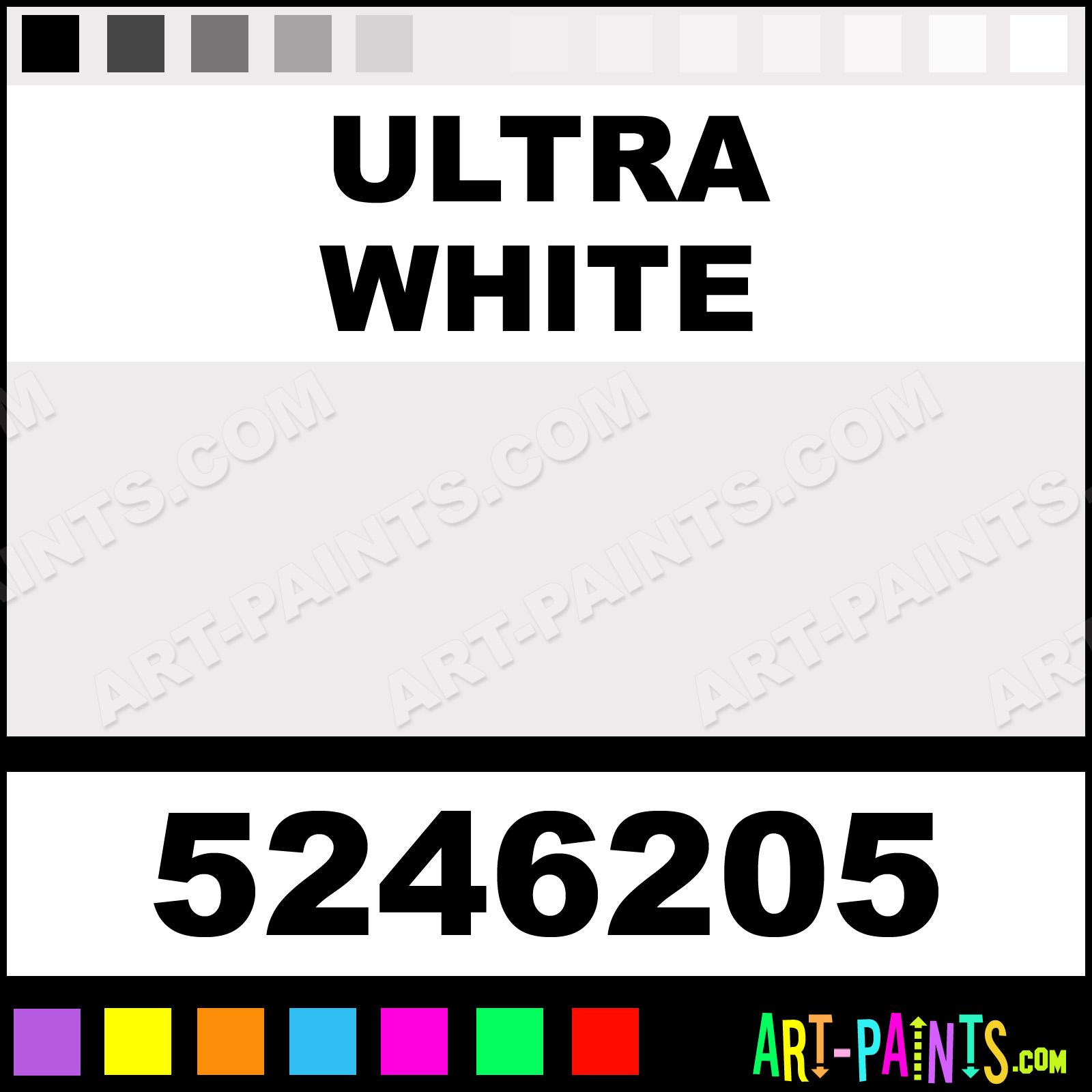 Ultra White Paint