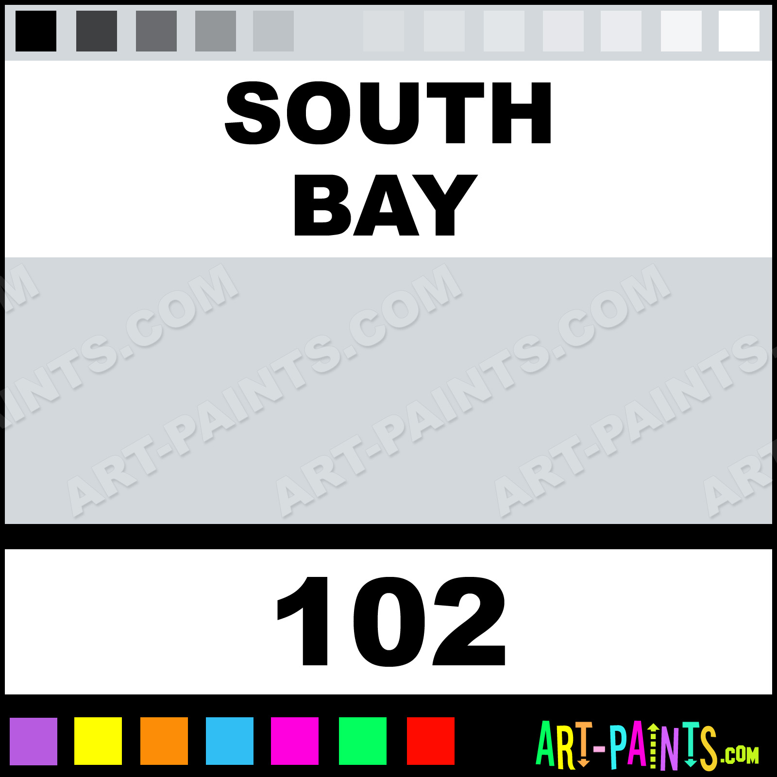 south bay flatwall enamel paints 102 south bay paint