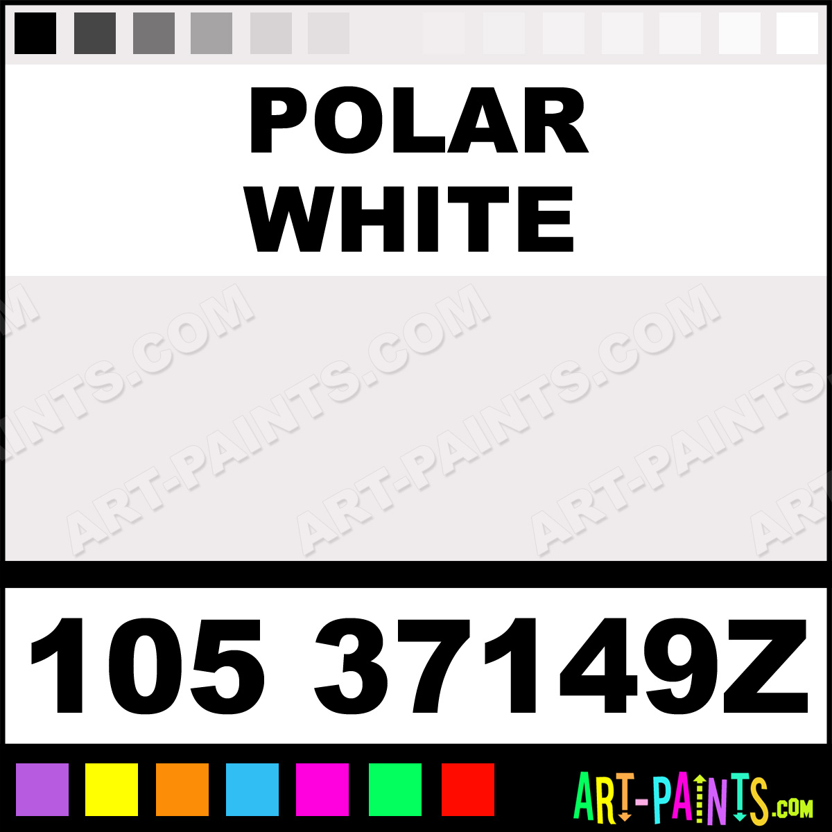 polar white 1 shot enamel paints 105 37149z polar