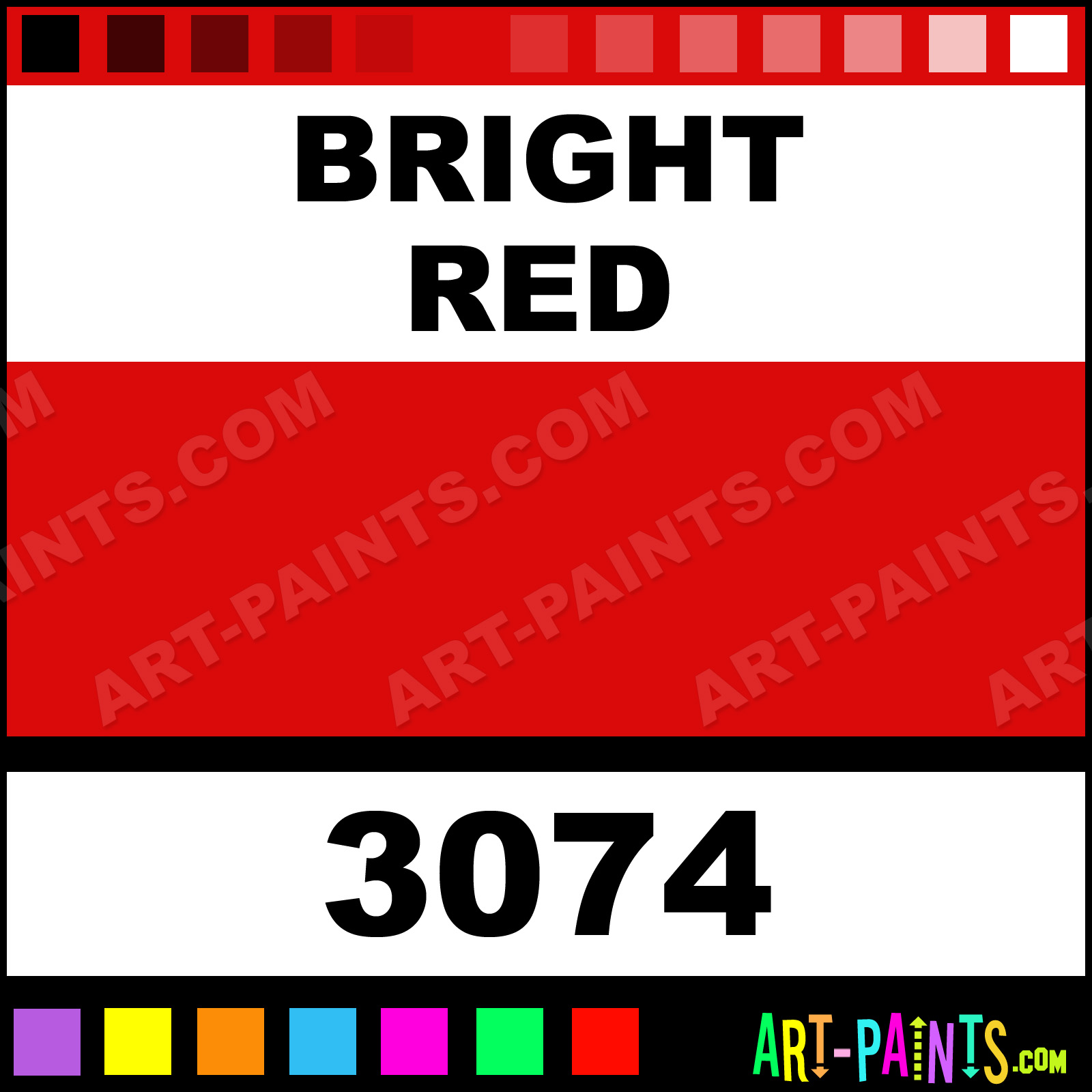 Bright Red Bright Red Paint