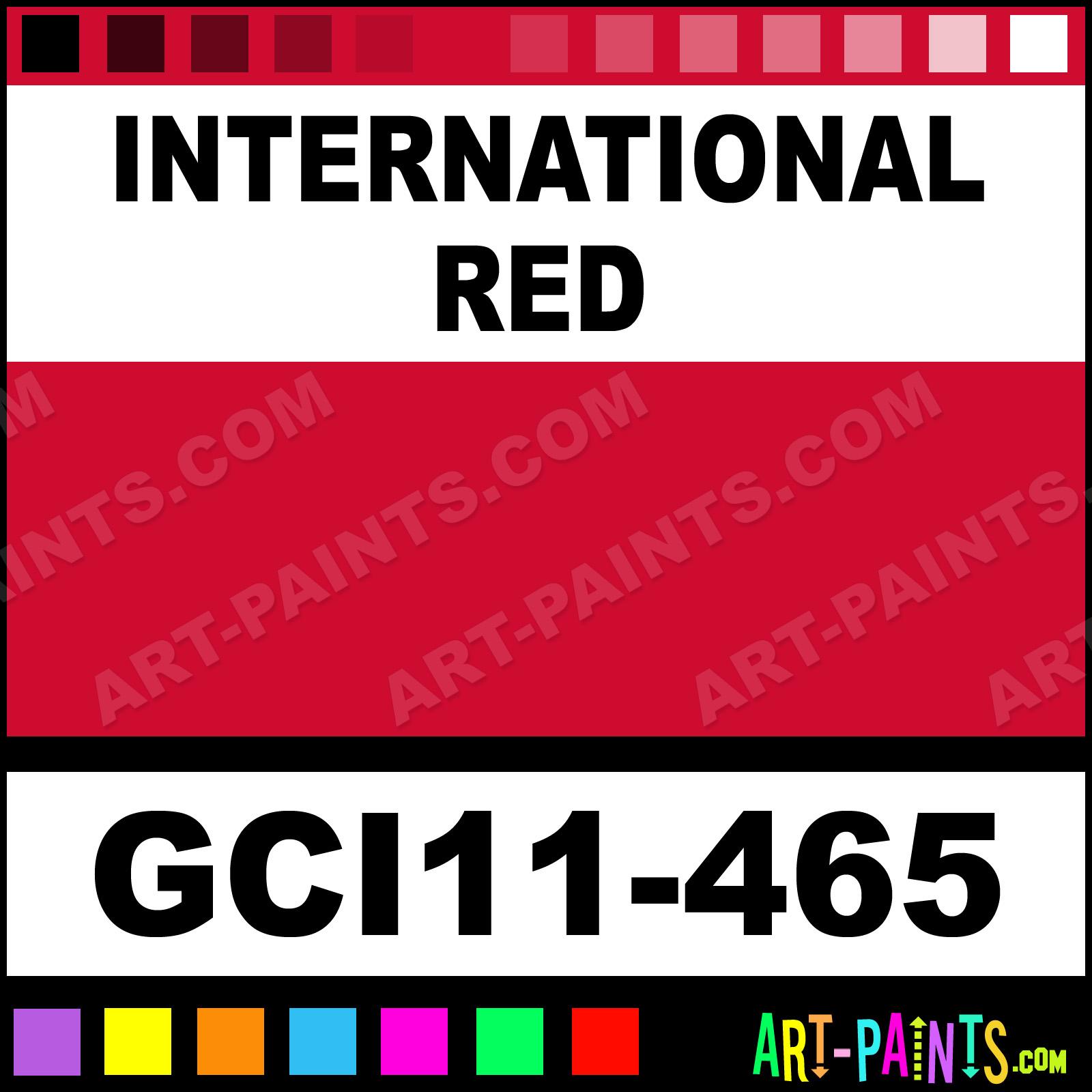International Red Industrial Enamel Paints Gci11 465 International Red Paint International Red Color Gci Alkyd Industrial Paint Cd0b2f Art Paints Com