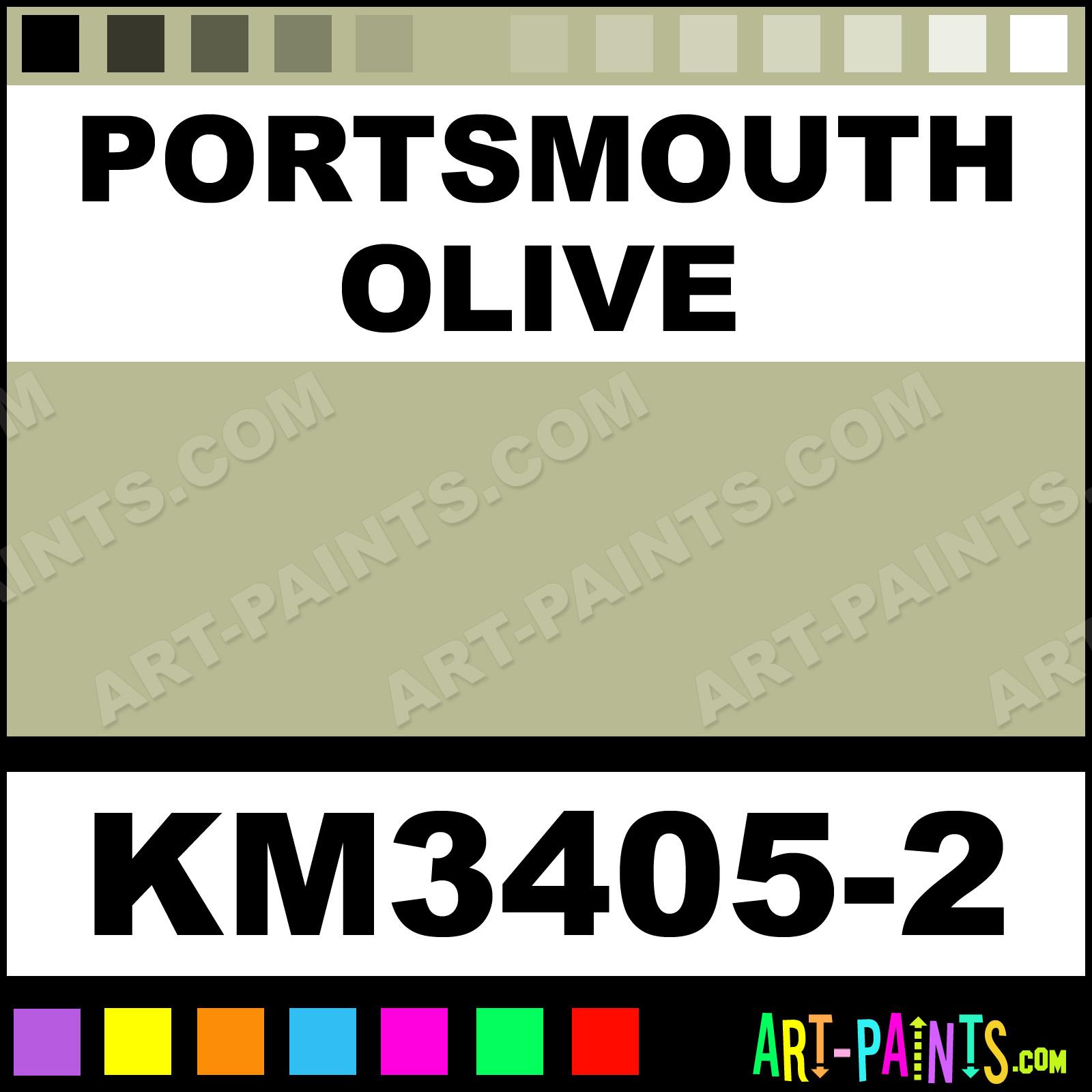 portsmouth olive interior enamel paints km3405 2. Black Bedroom Furniture Sets. Home Design Ideas