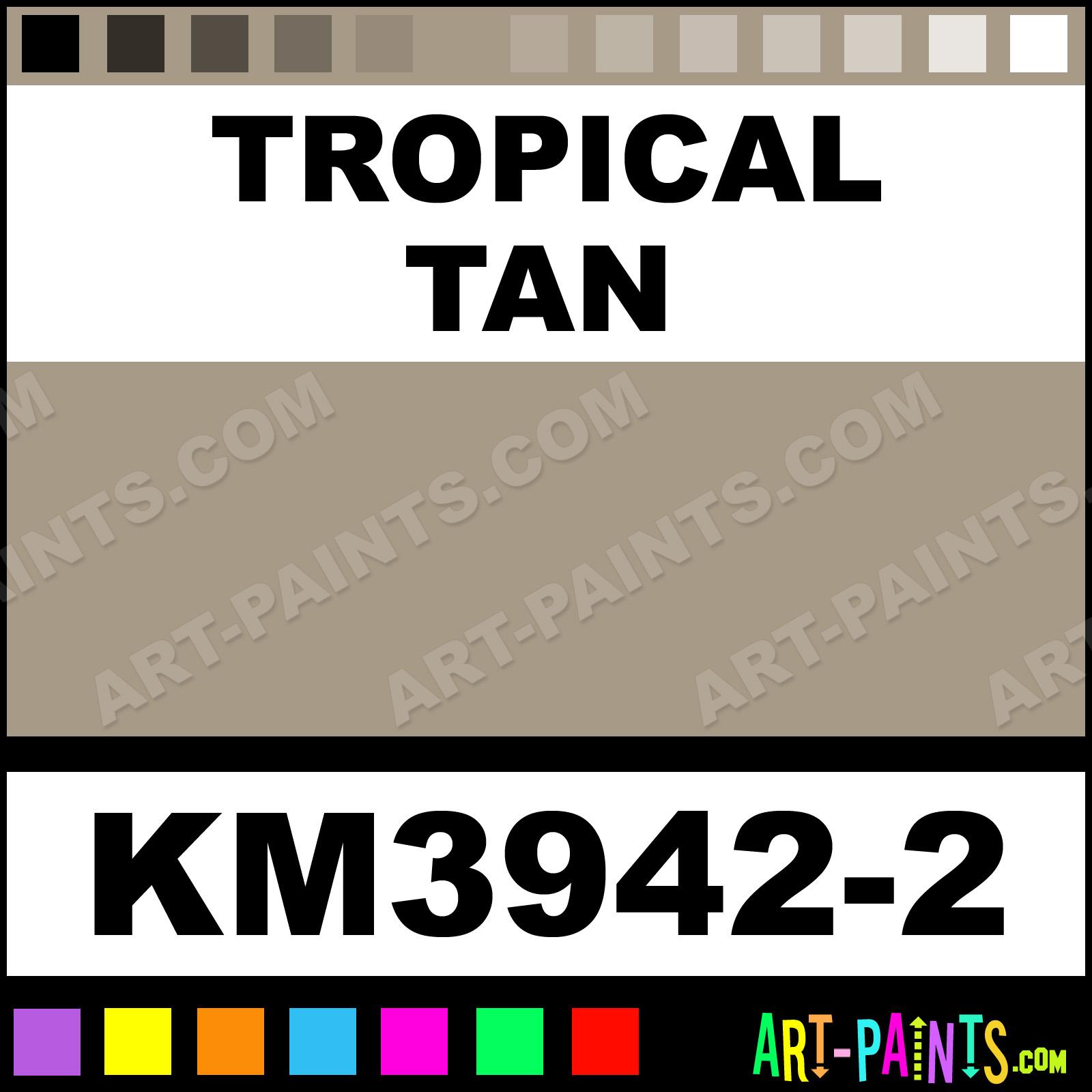 tropical tan interior enamel paints km3942 2 tropical. Black Bedroom Furniture Sets. Home Design Ideas