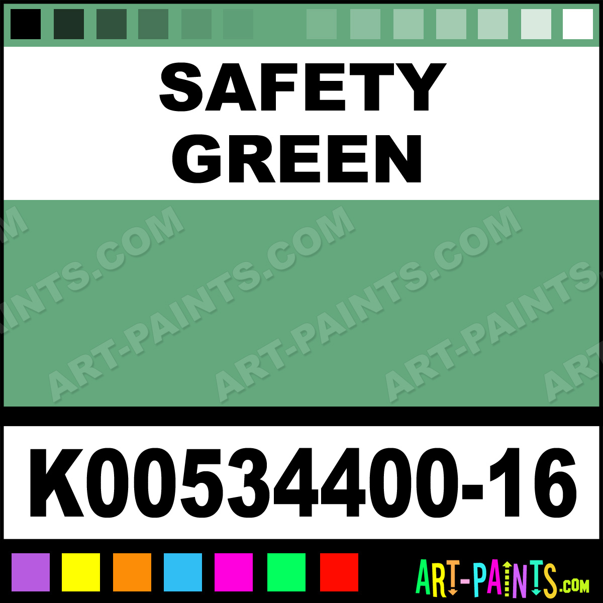 Safety Green Paint Safety Green Color