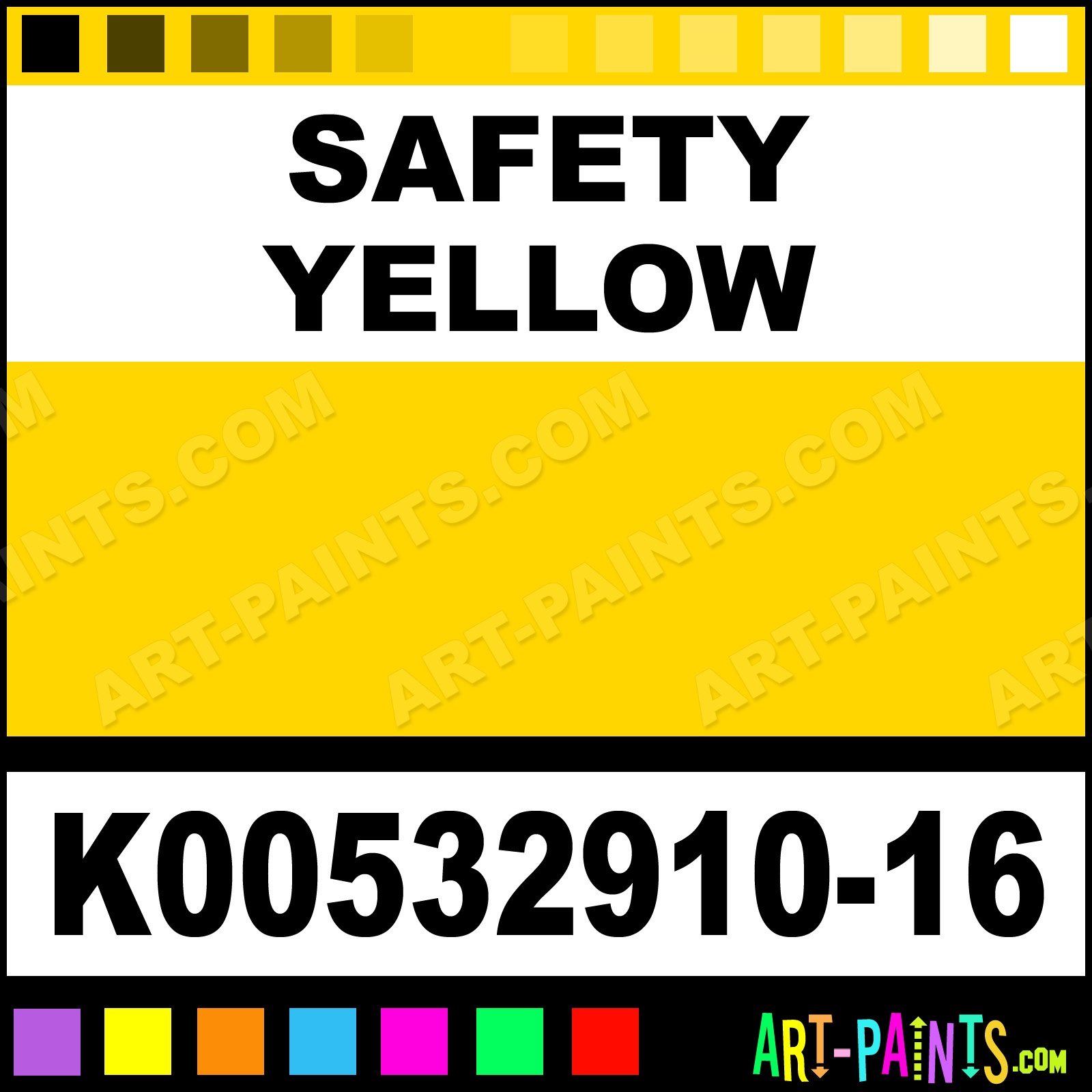 Safety Yellow And Safety Green Safety Yellow