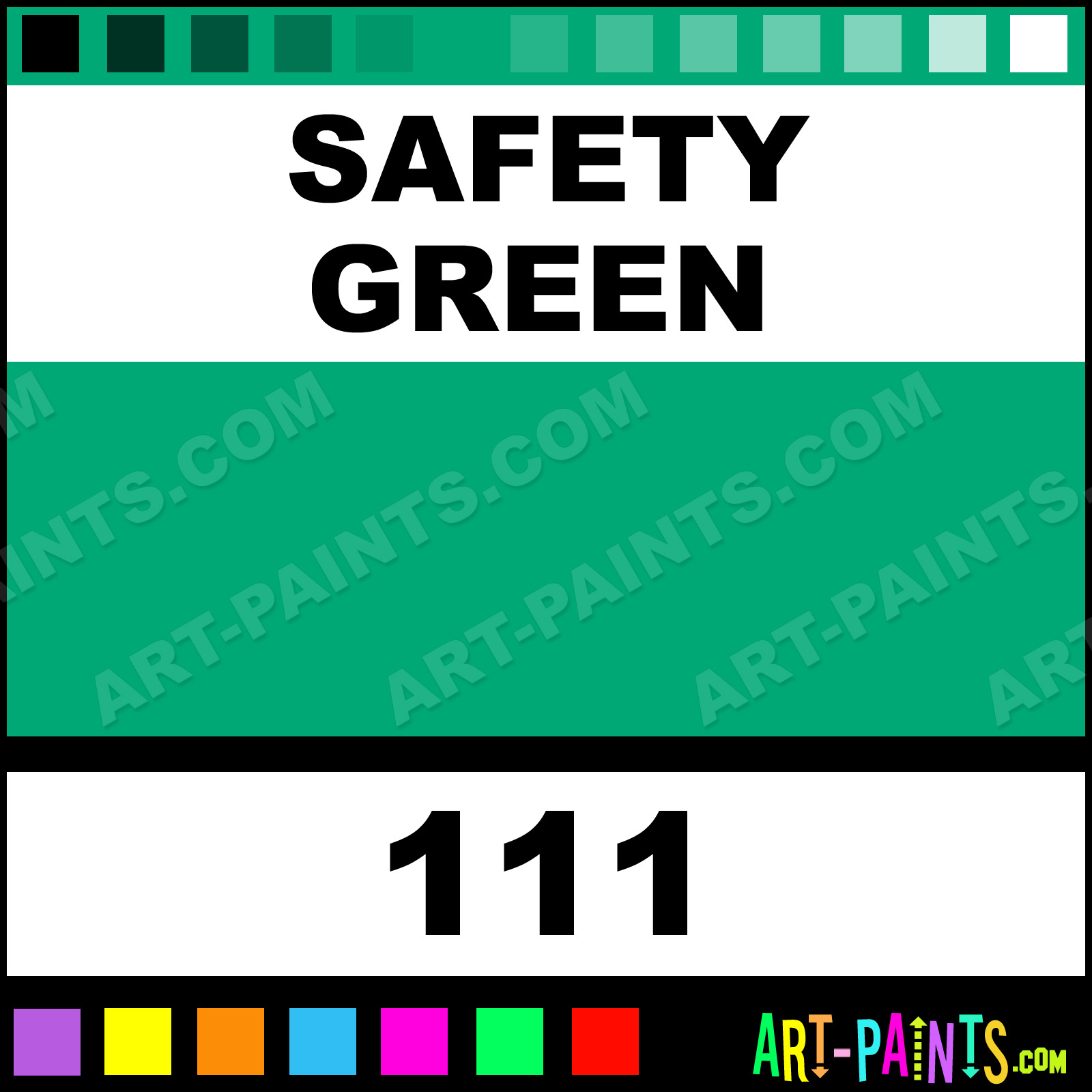 Safety Green Paint Safety Green