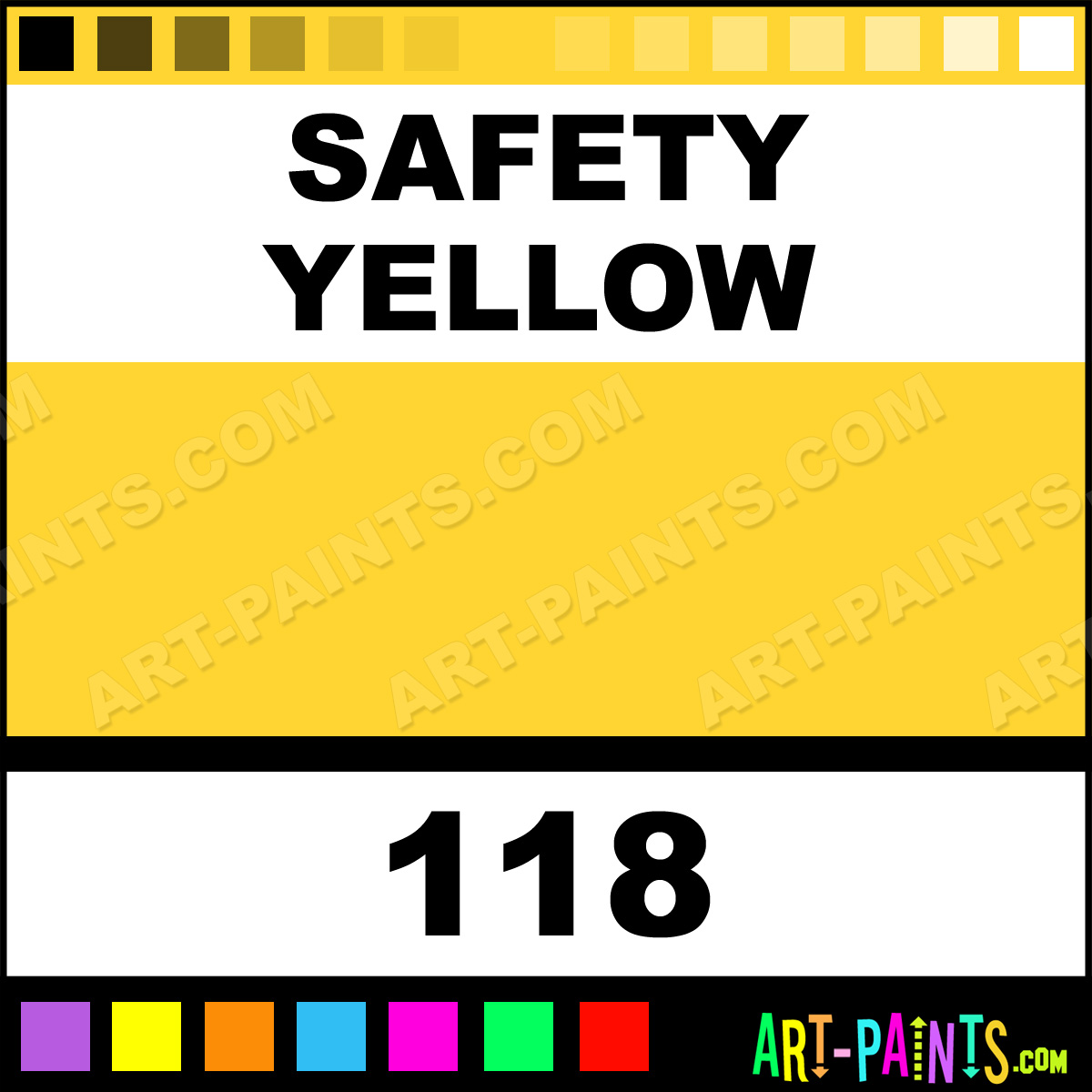 Safety Yellow Industrial ColorWorks Enamel Paints