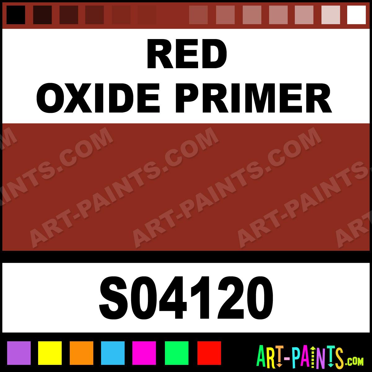 Red Oxide Primer Industrial Paint All Enamel Paints
