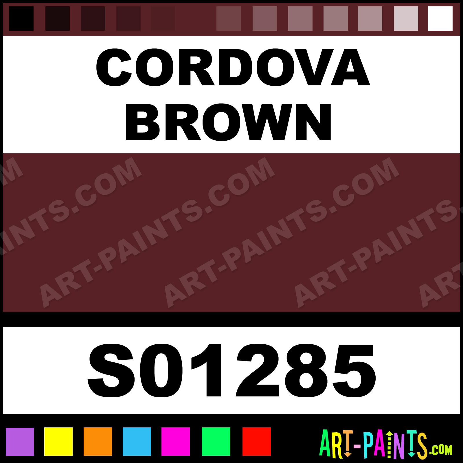 Cordova Brown Paint