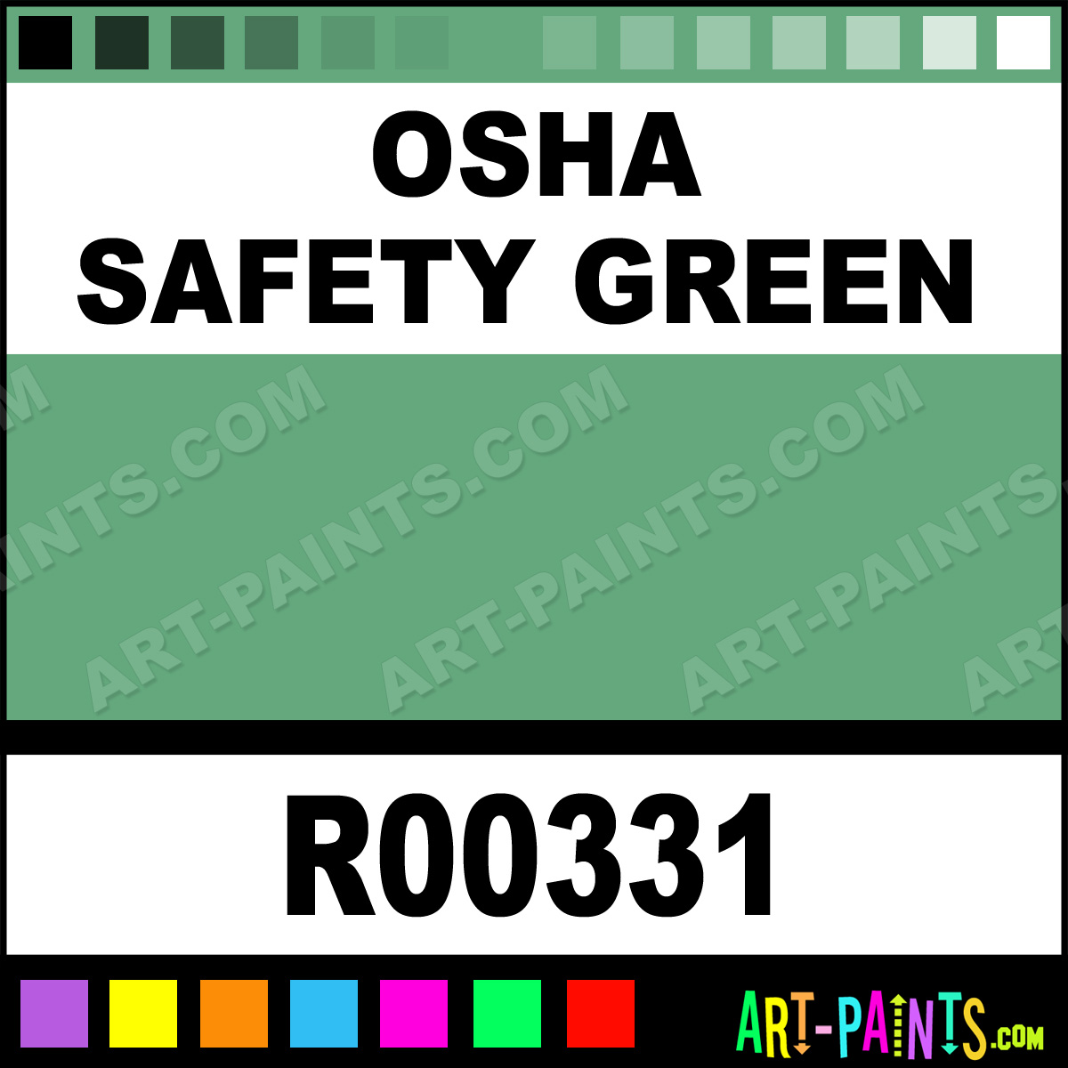 Safety Green Paint Osha Safety Green Paint