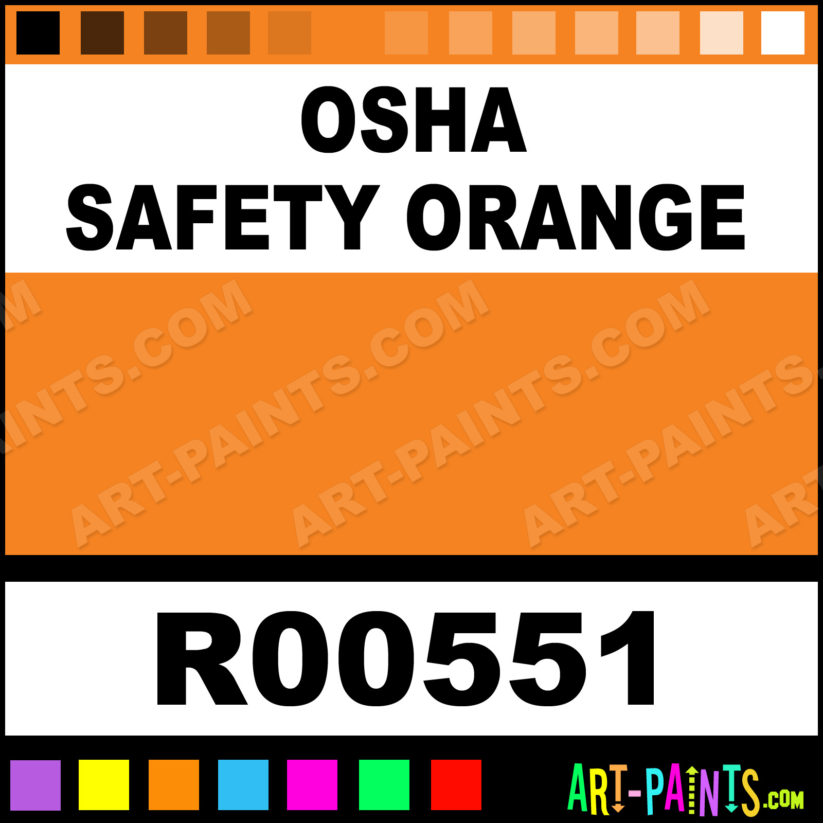 Safety Yellow Paint Alkyd Enamel Paint Osha Safety