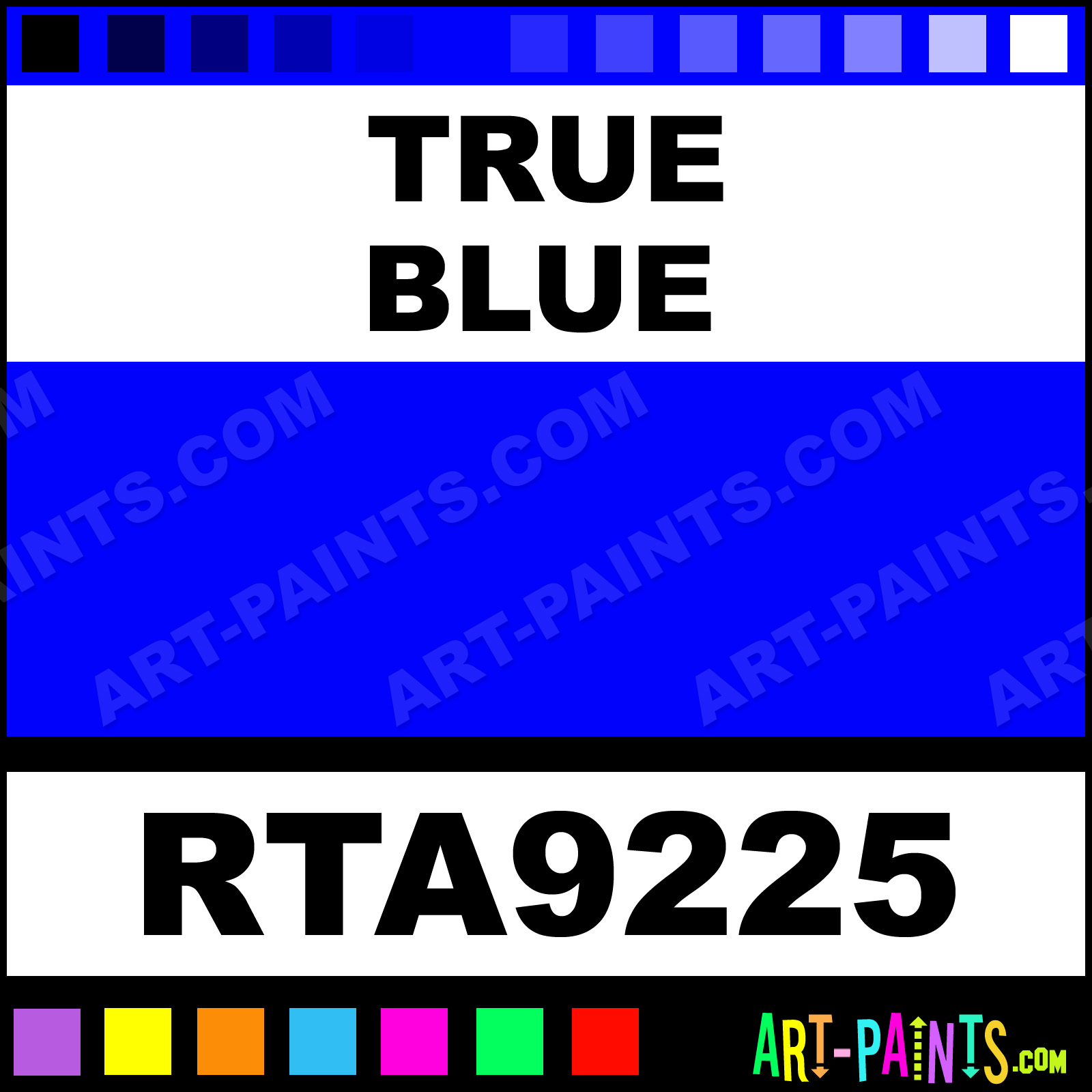 True Blue Paint Color True Blue Rust Tough Enamel Paints Rta9225 True Blue Paint