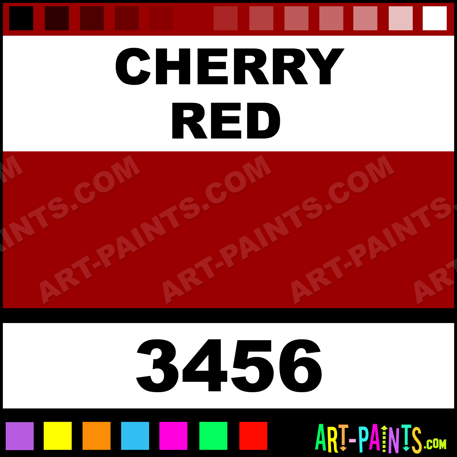 Cherry Red Paint