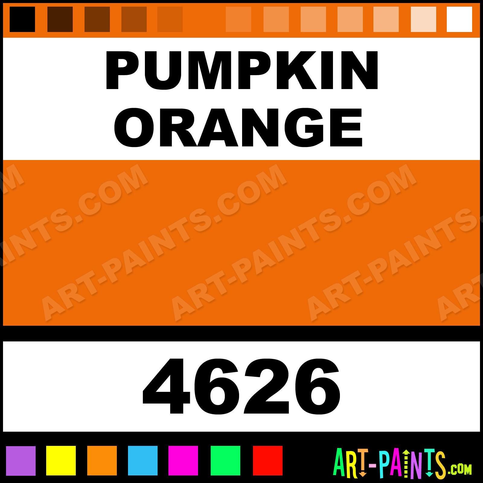 pumpkin orange spray enamel paints - 4626 - pumpkin orange paint
