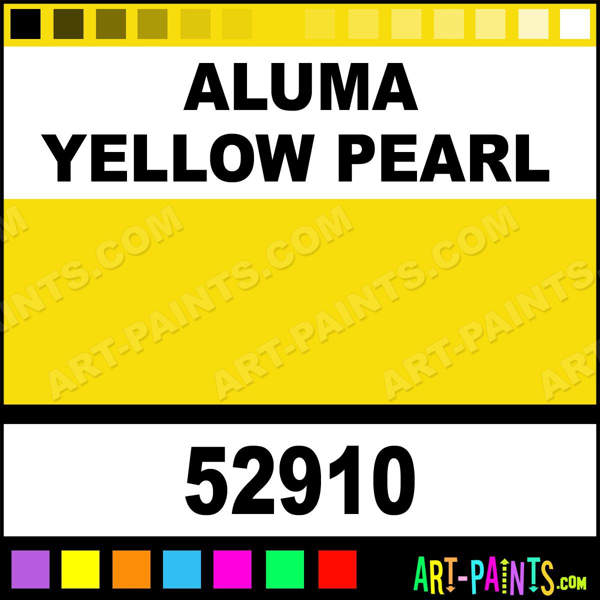 Ceramic Car Wax >> Aluma Yellow Pearl Car and Truck Enamel Paints - 52910 - Aluma Yellow Pearl Paint, Aluma Yellow ...