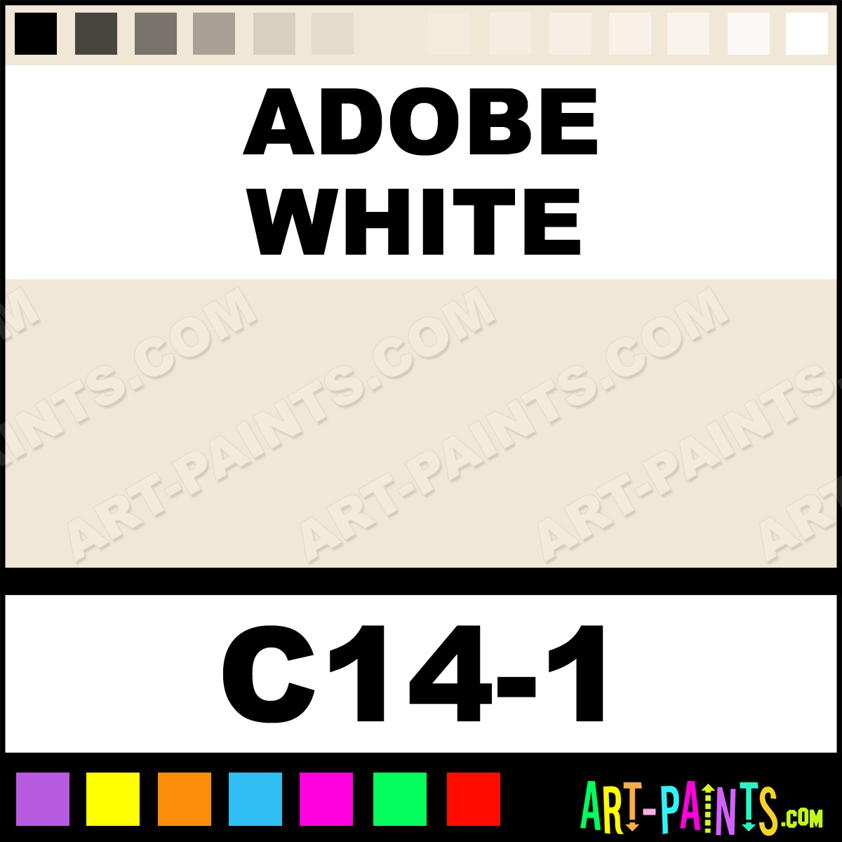 Adobe White Paint
